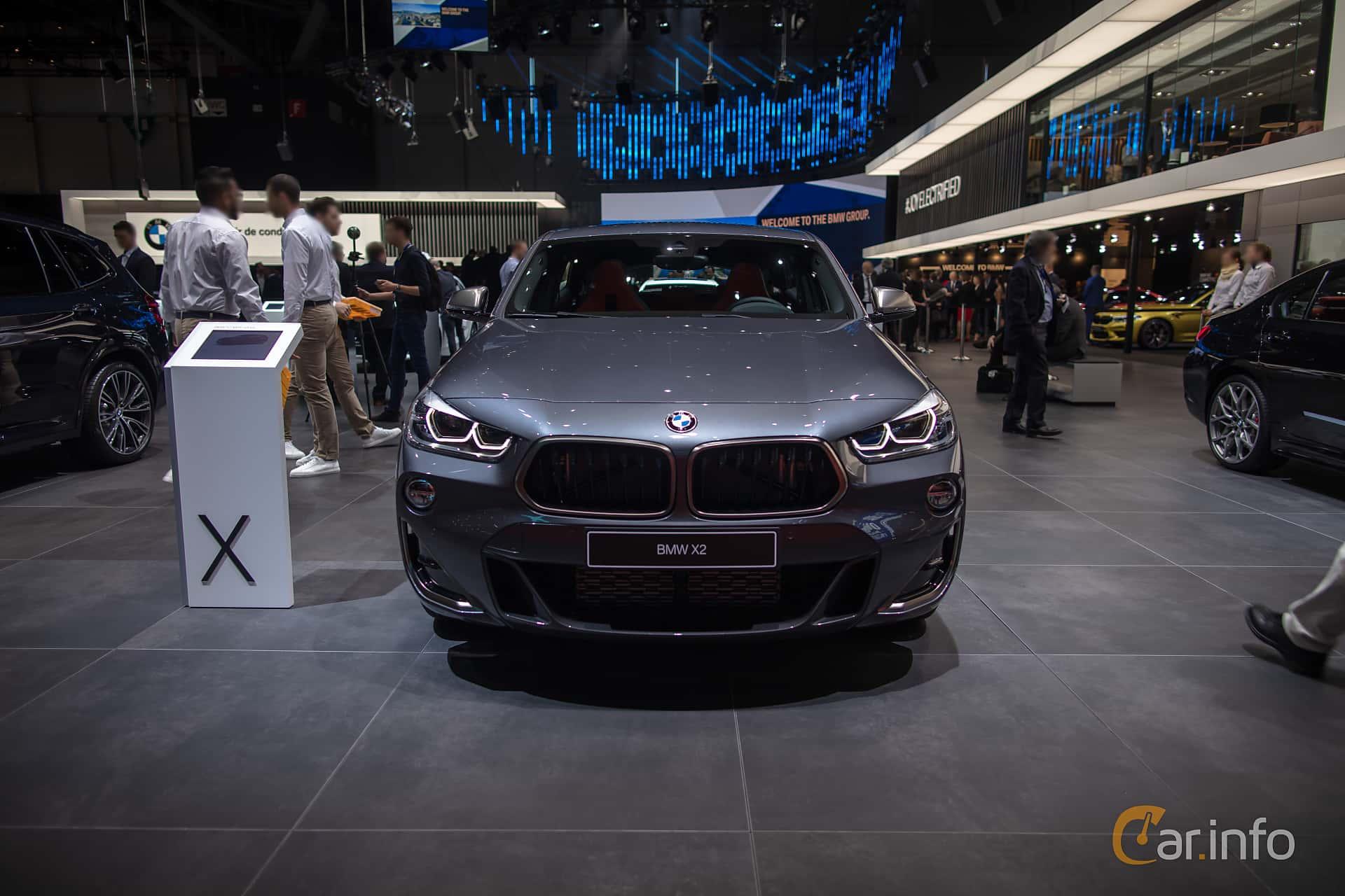 BMW X2 M35i  Steptronic, 306hp, 2019 at Geneva Motor Show 2019