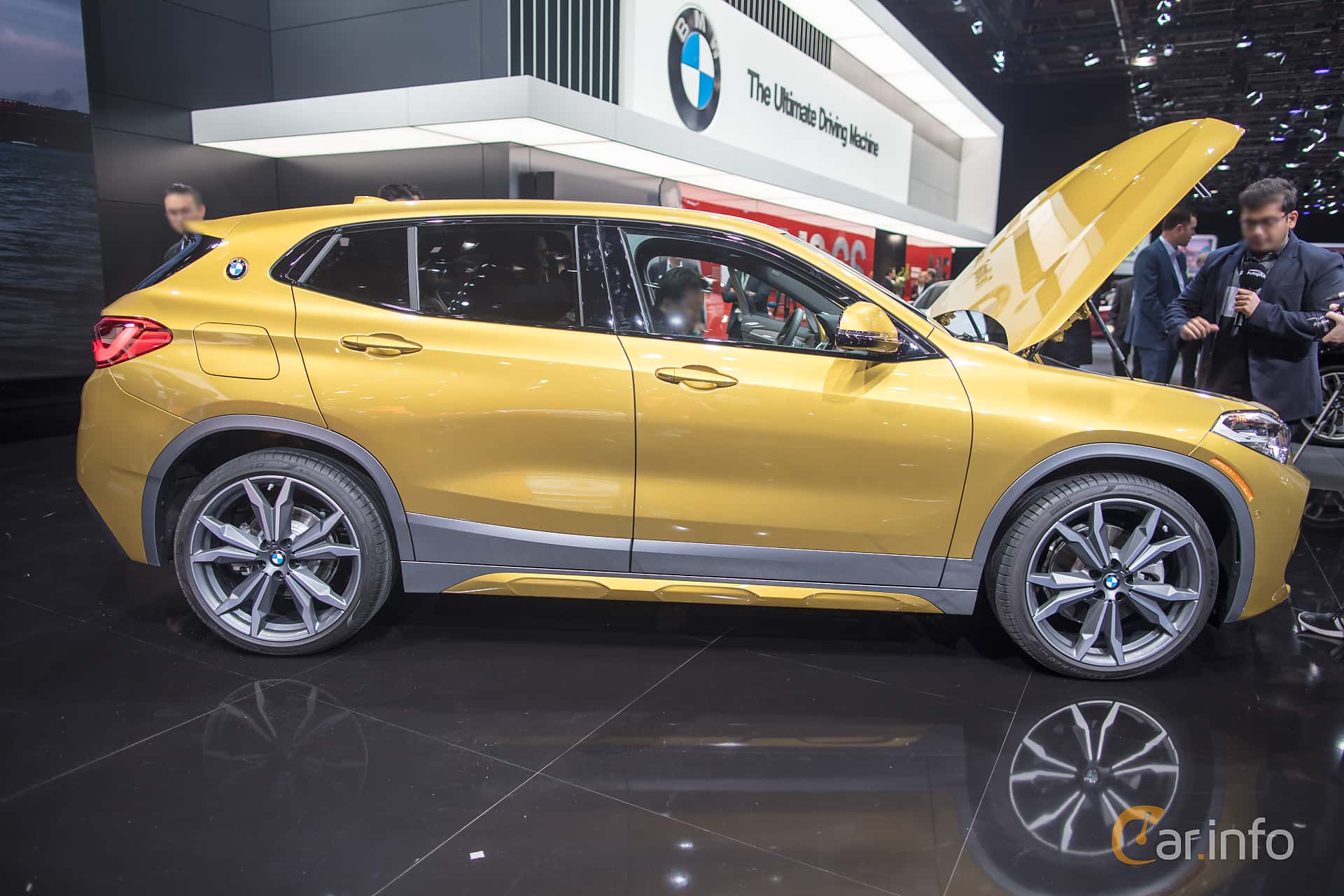 BMW X2 xDrive28i  Steptronic, 231hp, 2018 at North American International Auto Show 2018