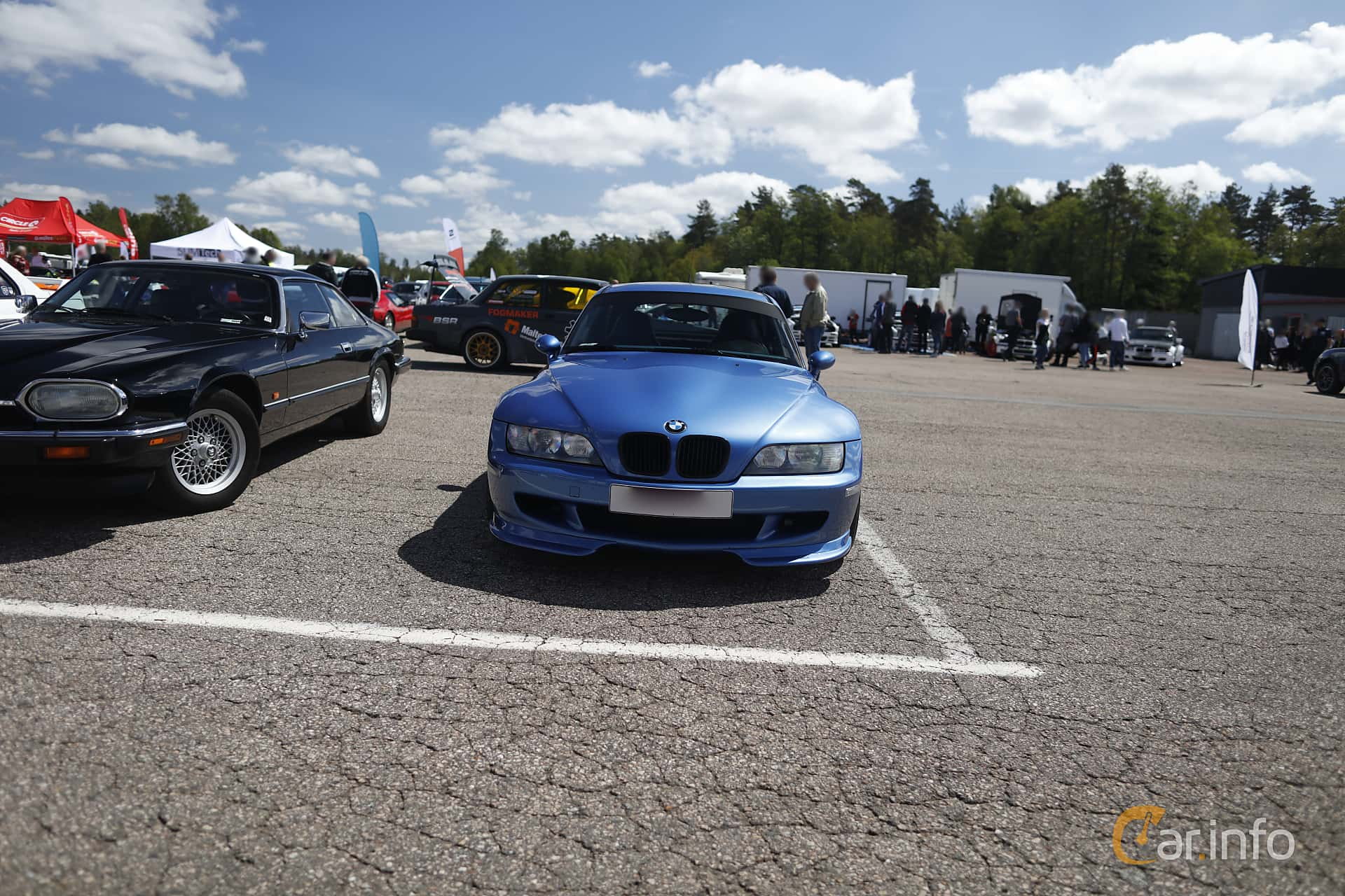 BMW M Coupé  Manual, 321hp, 1999 at Anderstorp Sportbilsfestival 2019