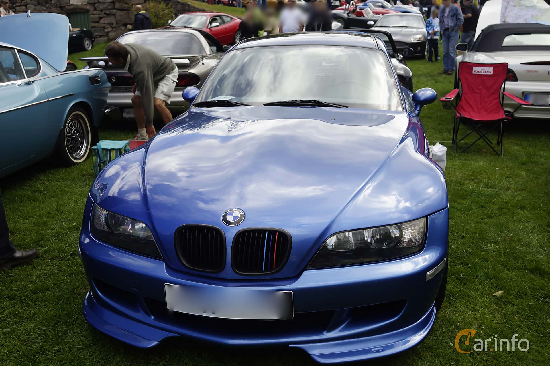 BMW M Coupé  Manual, 321hp, 1999 at Sportvagnsträffen 2015