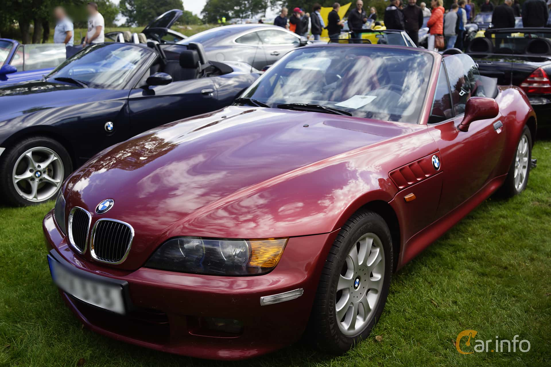 BMW Z3 3.0i Roadster Manual, 231hp, 2001 at Sportvagnsträffen 2015