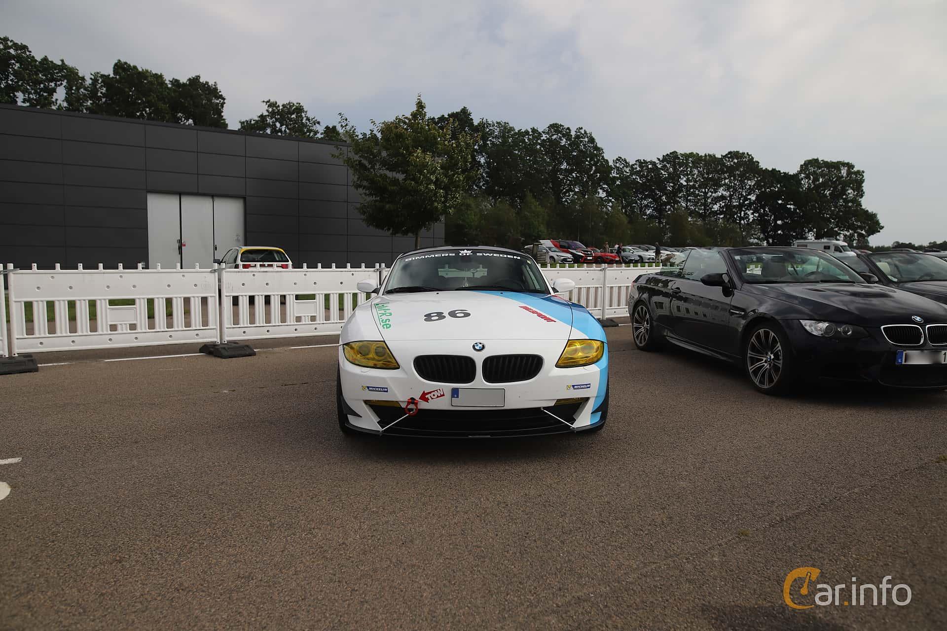 BMW Z4 3.0si Coupé  Manual, 265hp, 2007 at Autoropa Racing day Knutstorp 2019