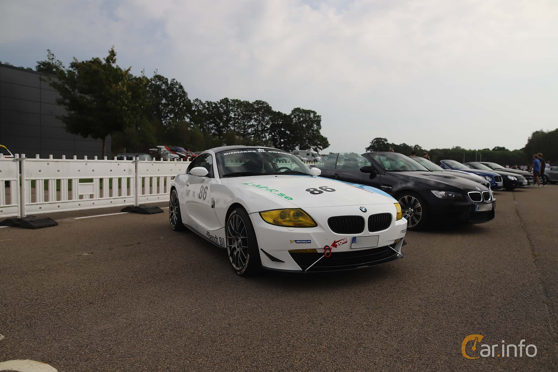 BMW Z4 3.0si Coupé  Manual, 265hp, 2007 at Autoropa Racing day Knutstorp 2019