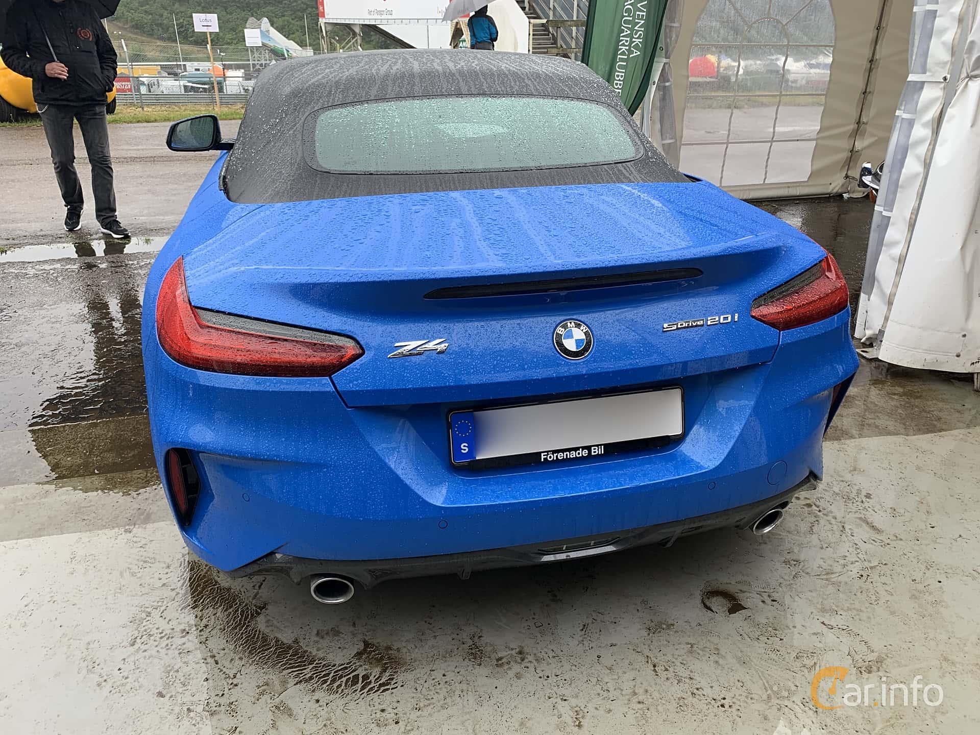 BMW Z4 sDrive20i  Steptronic, 197hp, 2019 at Svenskt sportvagnsmeeting 2019