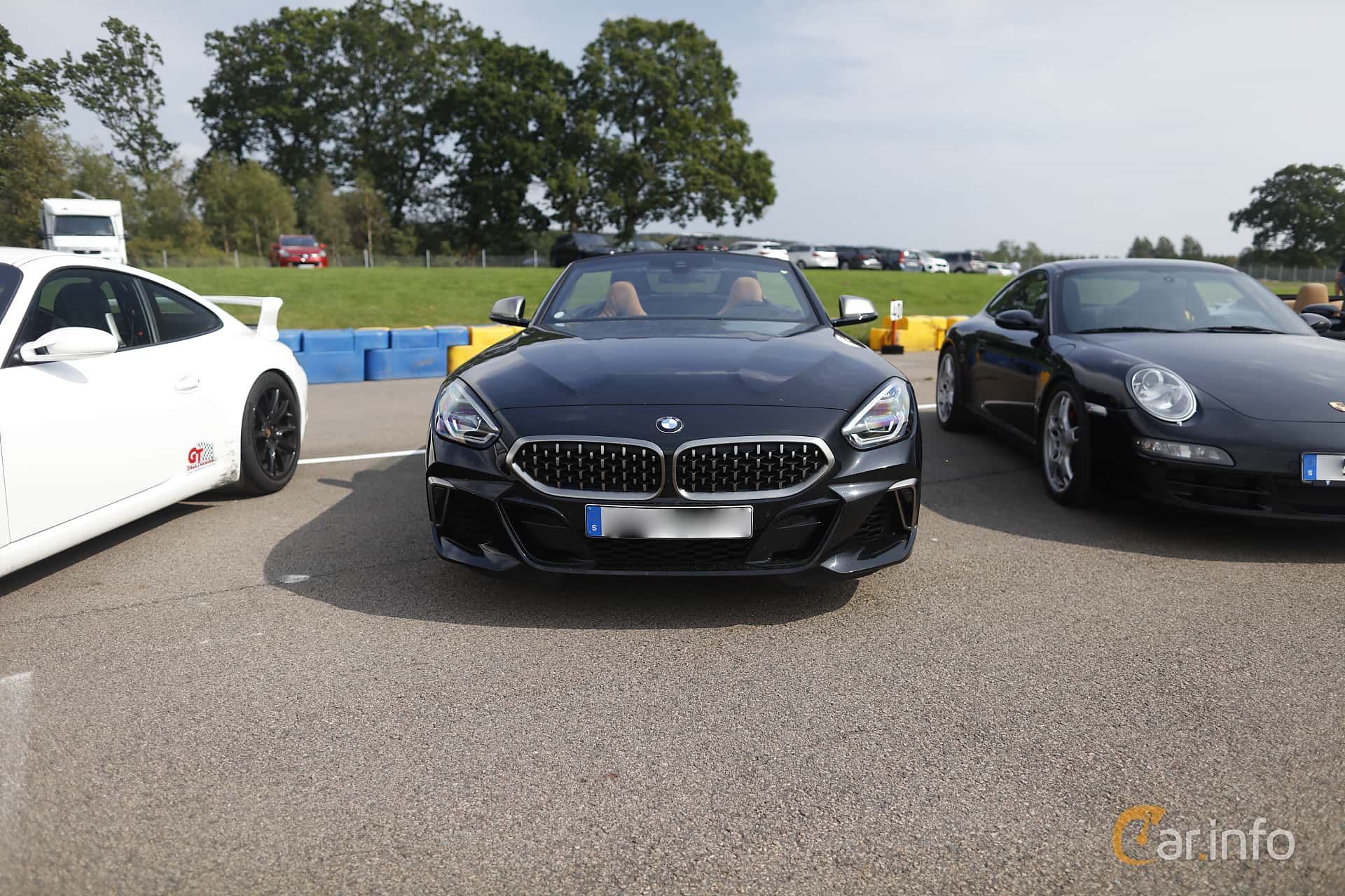 Front  of BMW Z4 M40i  Steptronic, 340ps, 2019 at Autoropa Racing day Knutstorp 2019