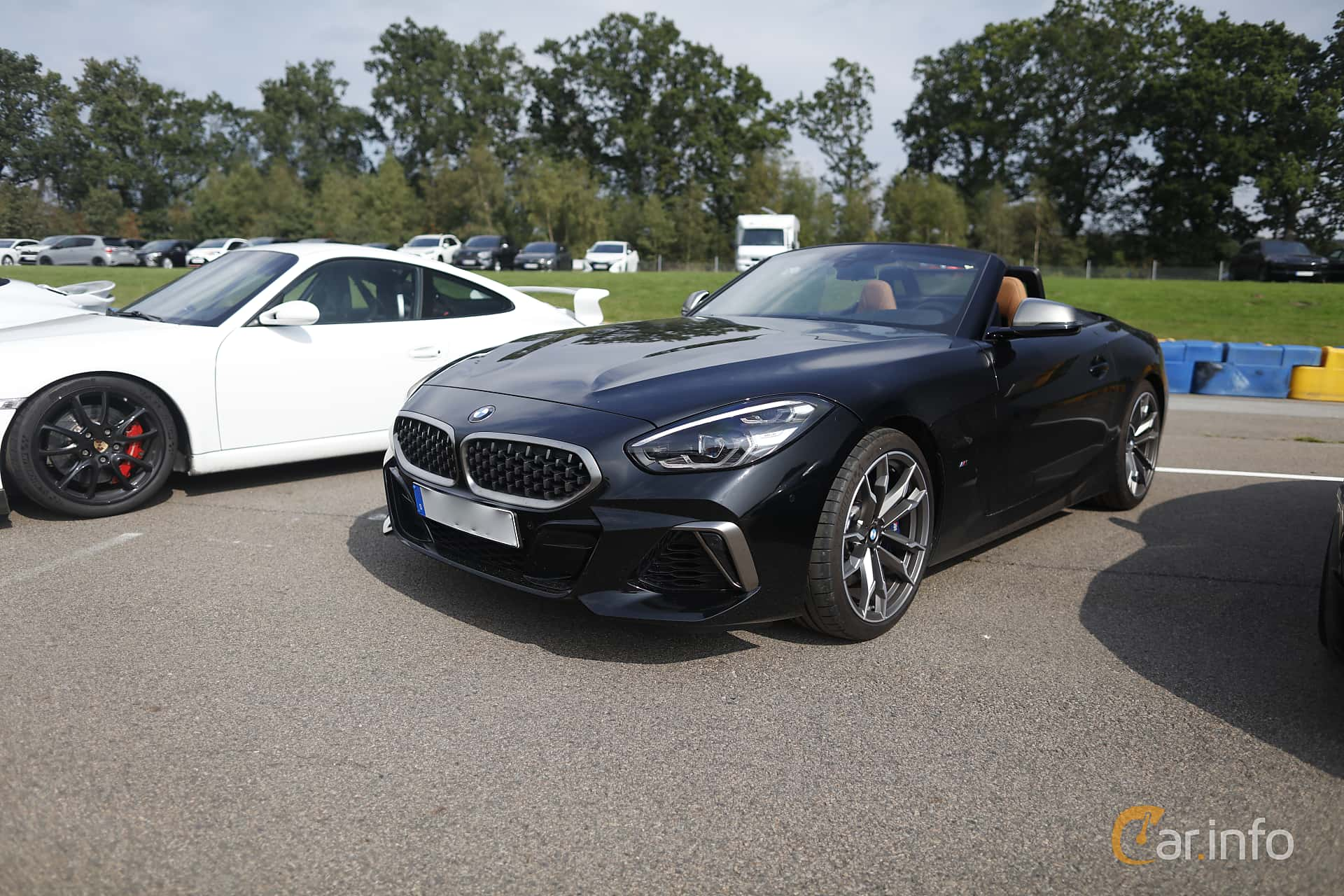 Front/Side  of BMW Z4 M40i  Steptronic, 340ps, 2019 at Autoropa Racing day Knutstorp 2019