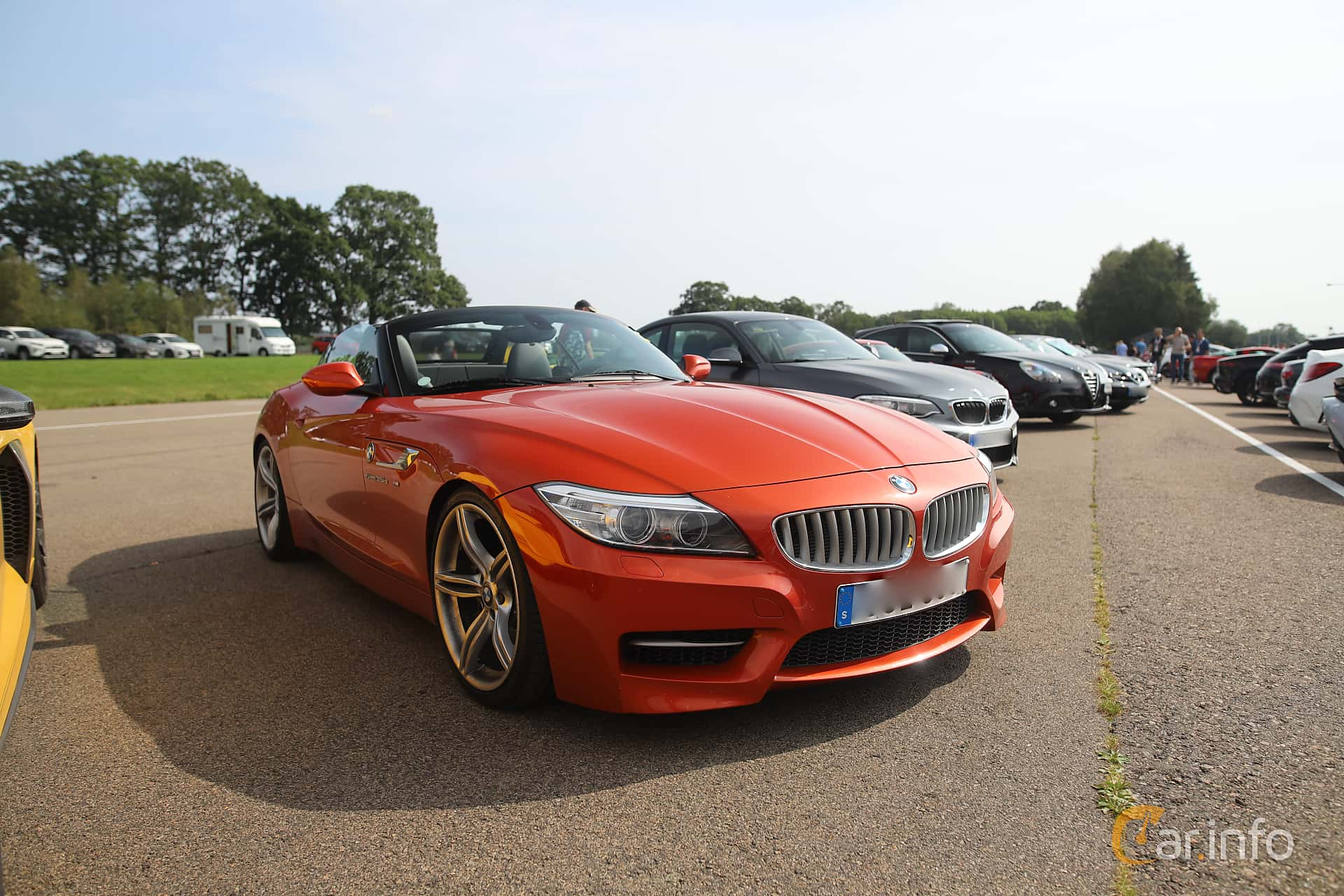 BMW Z4 sDrive35is  DCT, 340hp, 2015 at Autoropa Racing day Knutstorp 2019