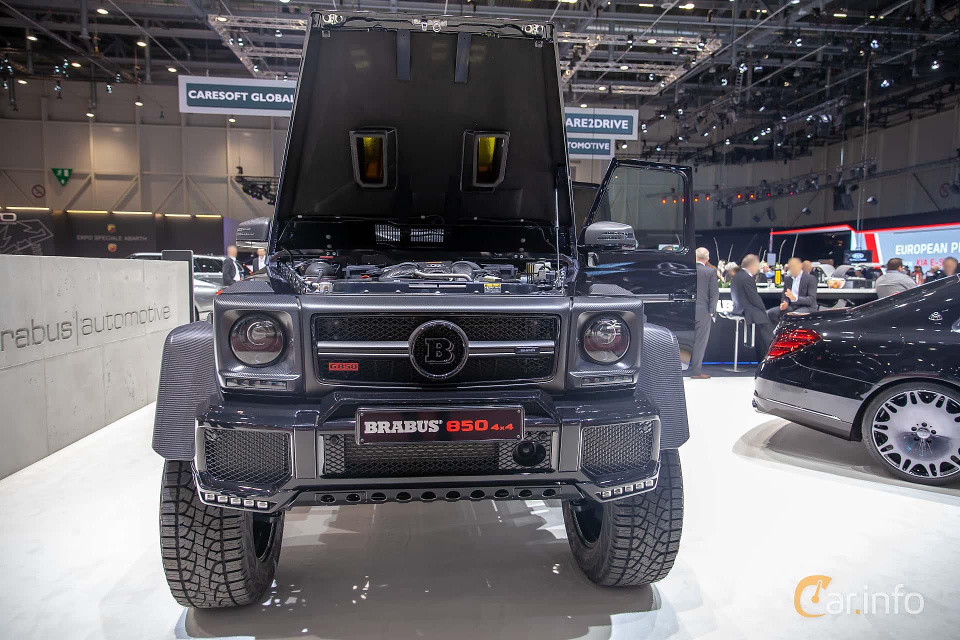 Front  of Brabus G 850  AMG-SpeedShift Plus 7G-Tronic, 850ps, 2019 at Geneva Motor Show 2019