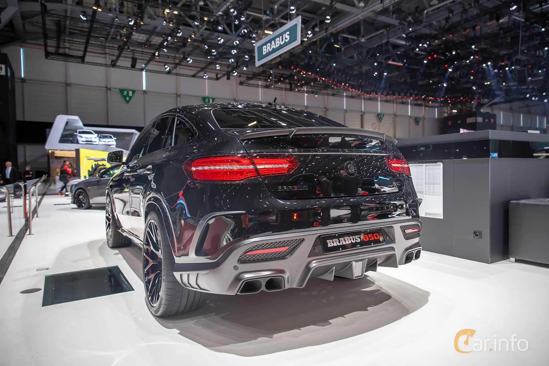 Brabus GLE 850 Coupé  AMG SpeedShift Plus 7G-Tronic, 850hp, 2019 at Geneva Motor Show 2019