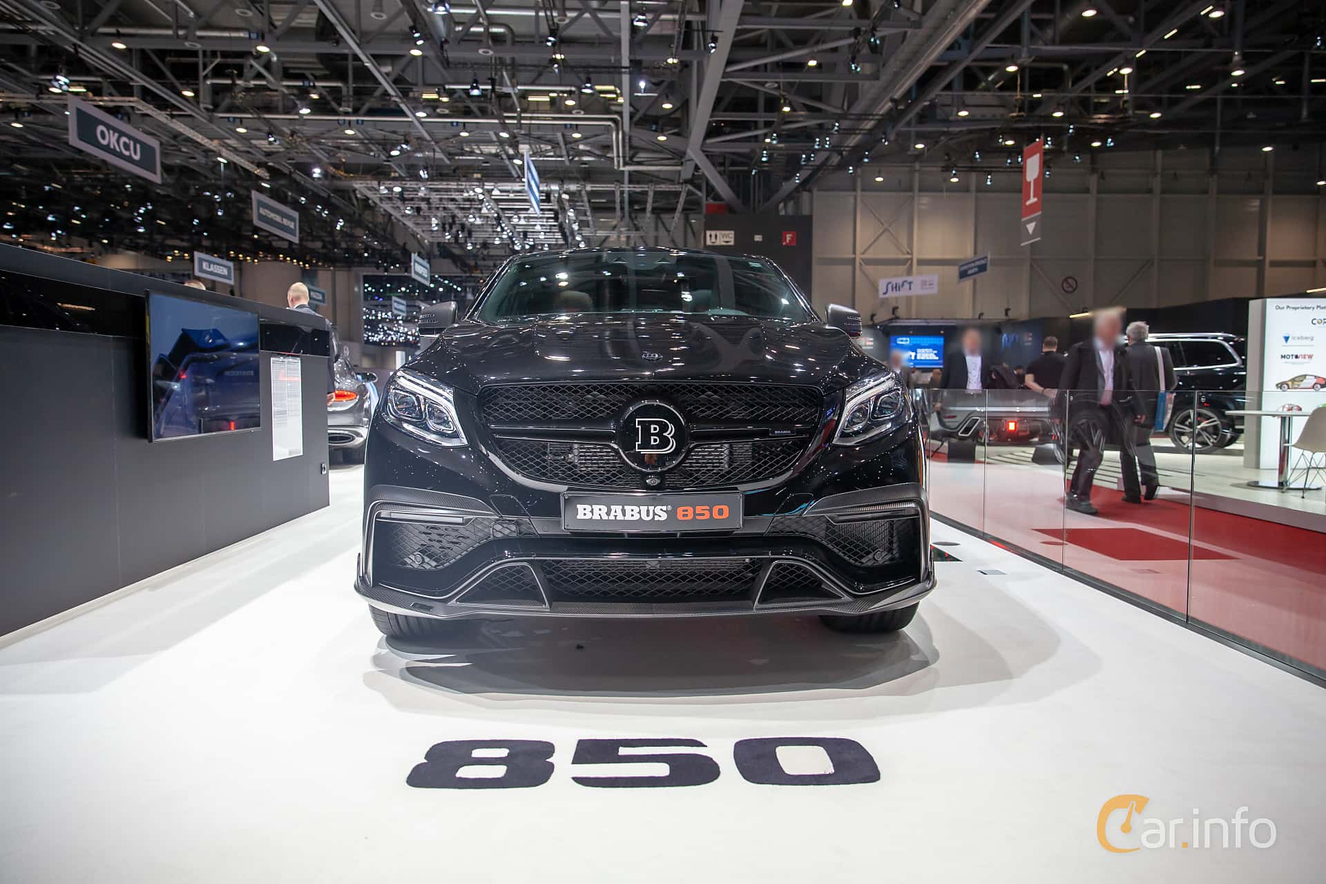 Front  of Brabus GLE 850 Coupé  AMG-SpeedShift Plus 7G-Tronic, 850ps, 2019 at Geneva Motor Show 2019