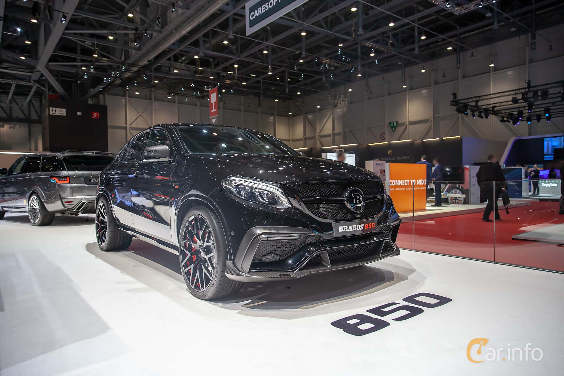 Front/Side  of Brabus GLE 850 Coupé  AMG-SpeedShift Plus 7G-Tronic, 850ps, 2019 at Geneva Motor Show 2019