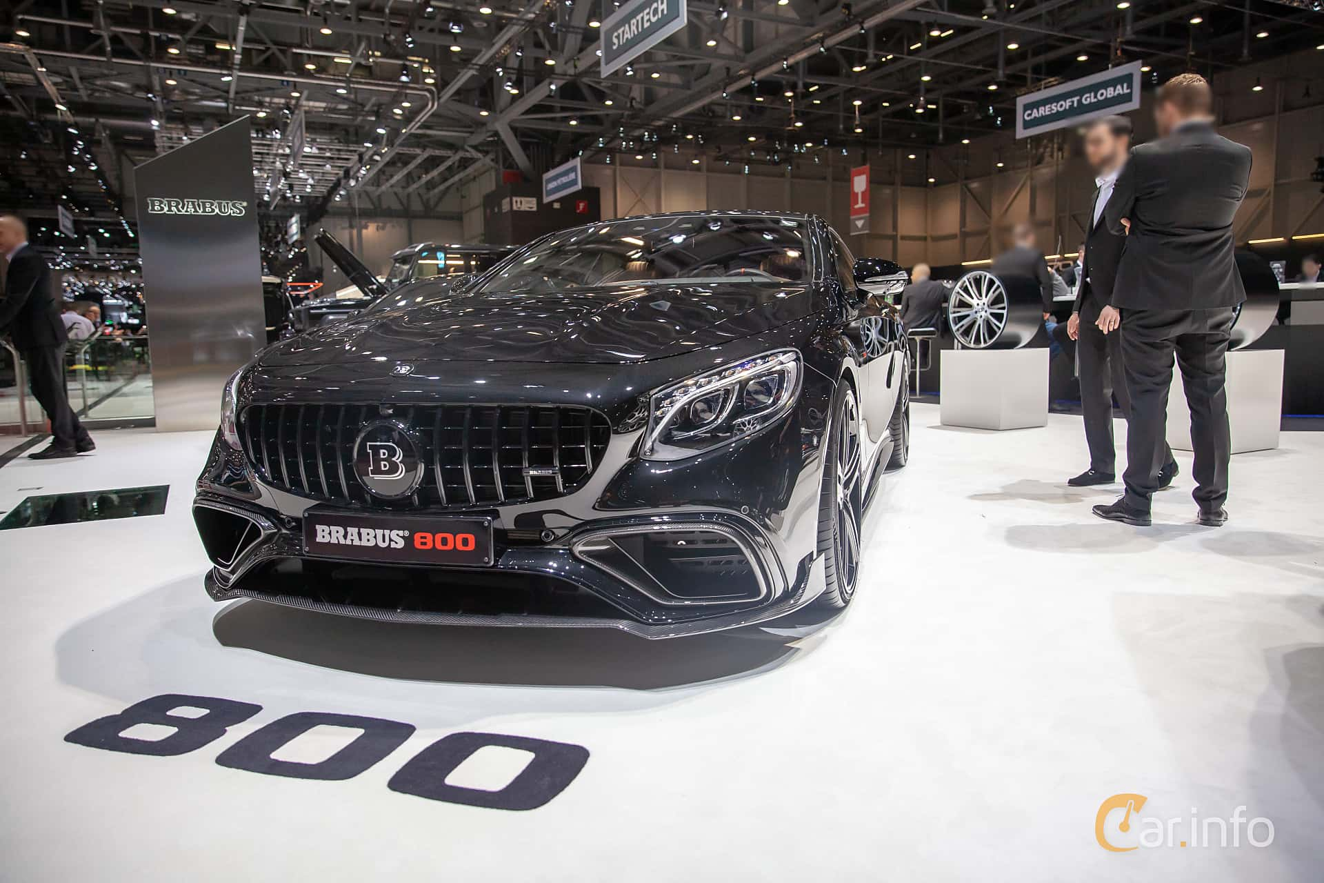 Front/Side  of Brabus S 800 Coupé  , 800ps, 2019 at Geneva Motor Show 2019