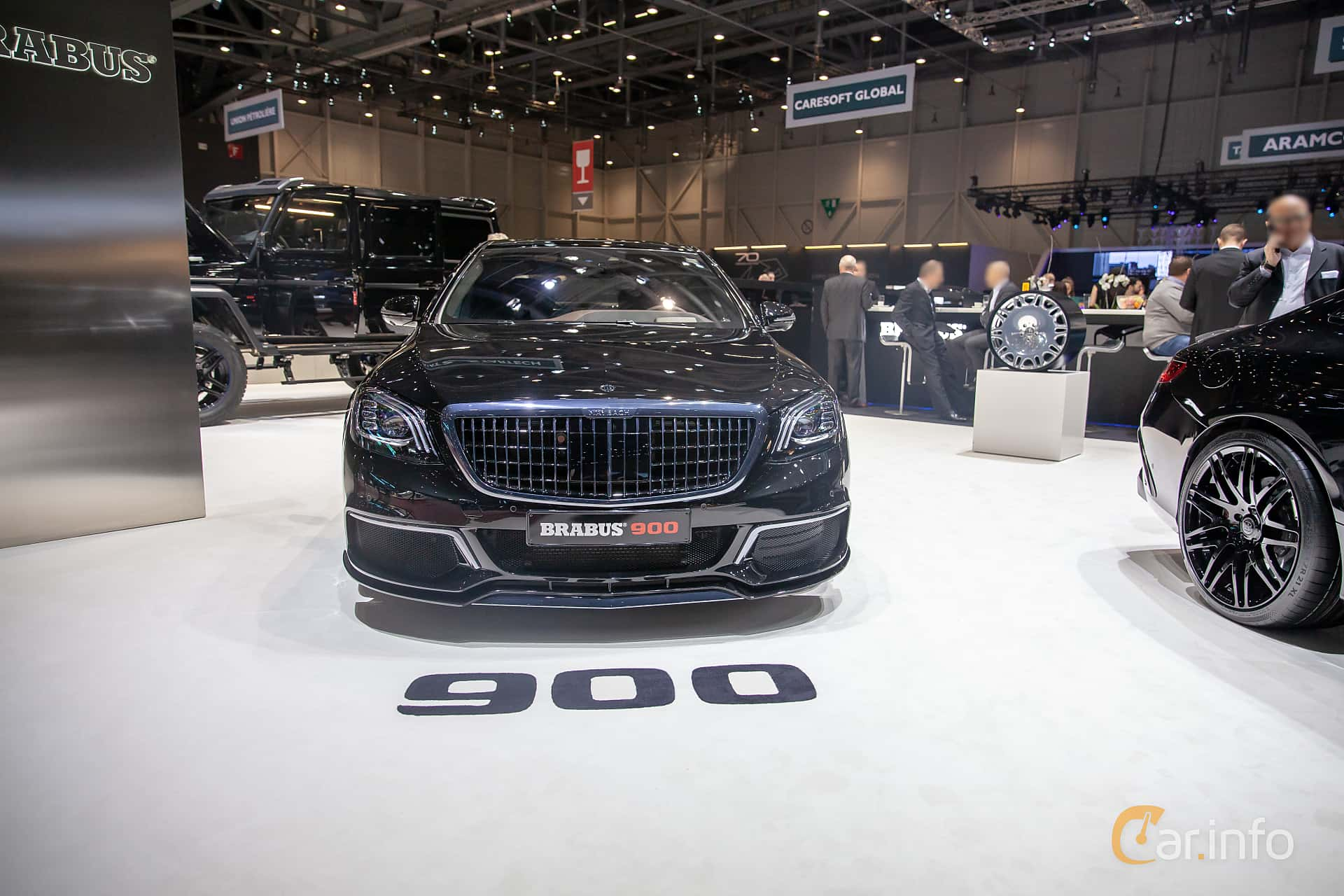 Front  of Brabus S 900 Maybach  9G-Tronic, 900ps, 2019 at Geneva Motor Show 2019