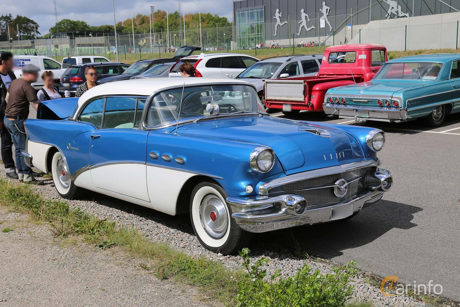 Buick Special 2-door Riviera 5.3 V8 Automatic, 223hp, 1956