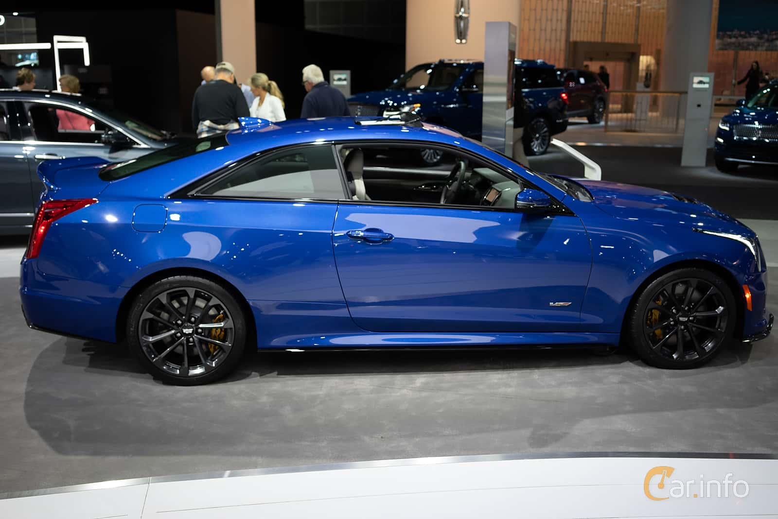 Cadillac ATS-V Coupé 3.6 V6 470hp, 2019 at LA Motor Show 2018