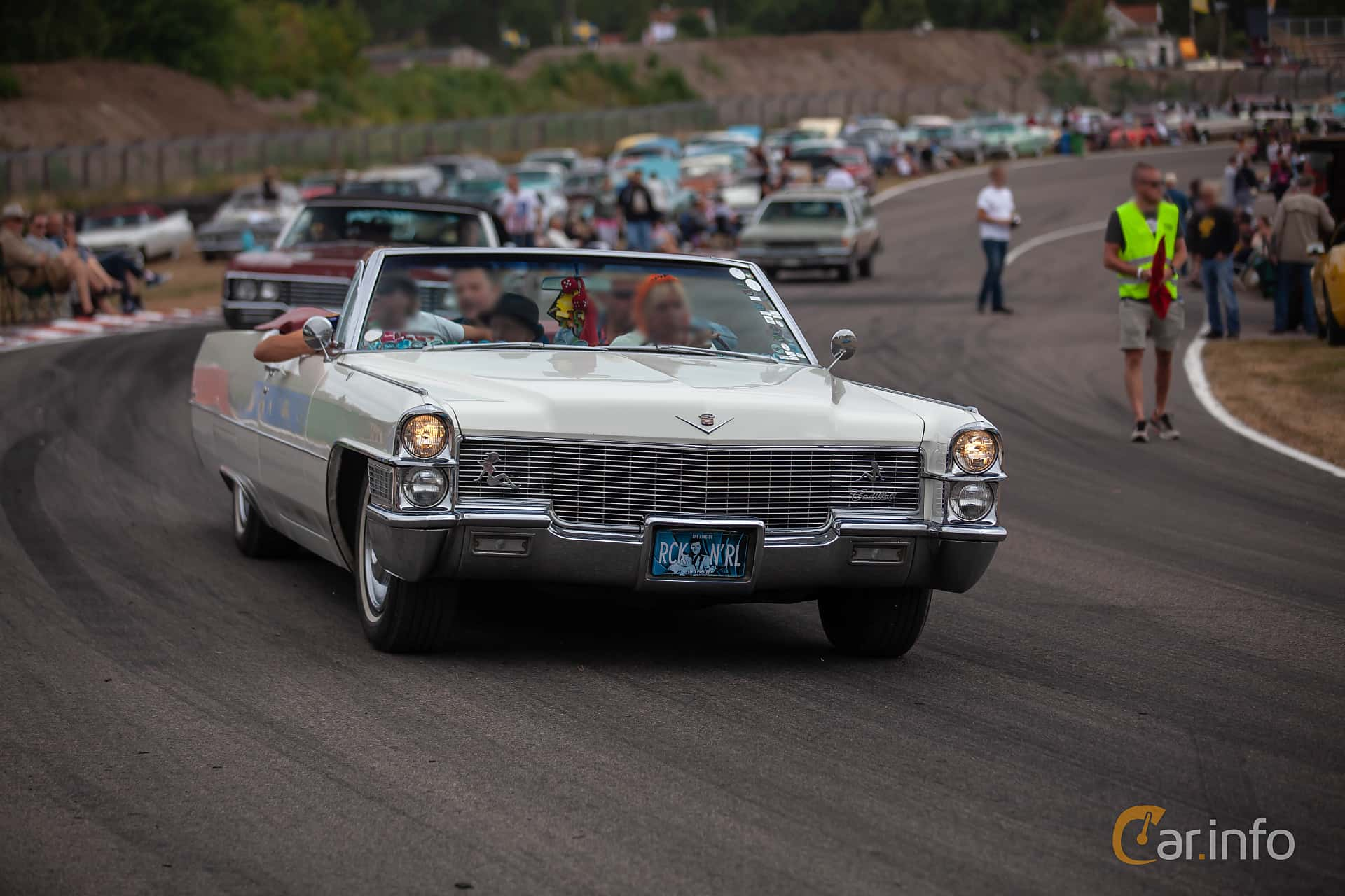 Cadillac De Ville Convertible 7.0 V8 OHV Hydra-Matic, 345hp, 1965 at Wheels & Wings 2018