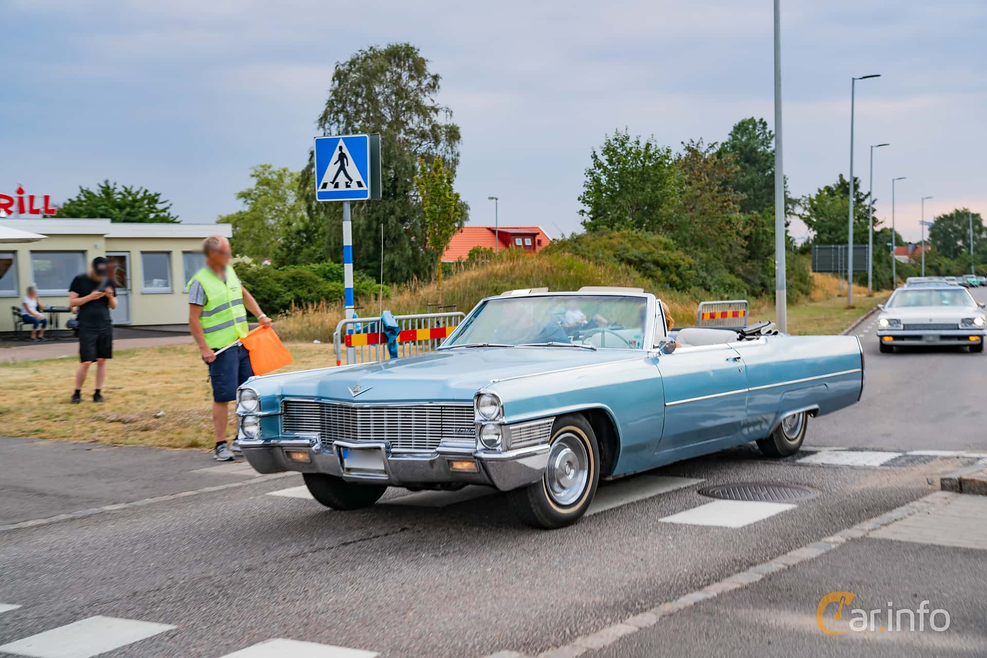 Cadillac De Ville Convertible 7.0 V8 OHV Hydra-Matic, 345hp, 1965 at Wheels & Wings 2019