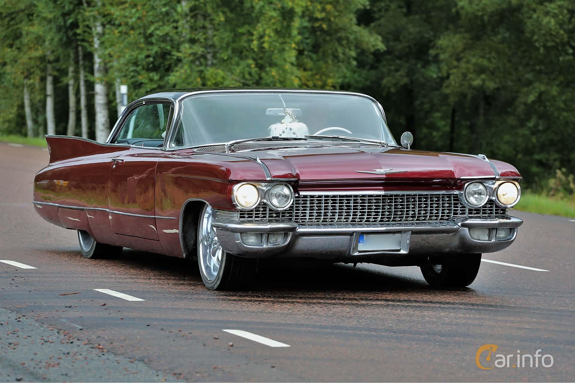Cadillac Coupé de Ville 6.4 V8 OHV Hydra-Matic, 349hp, 1960