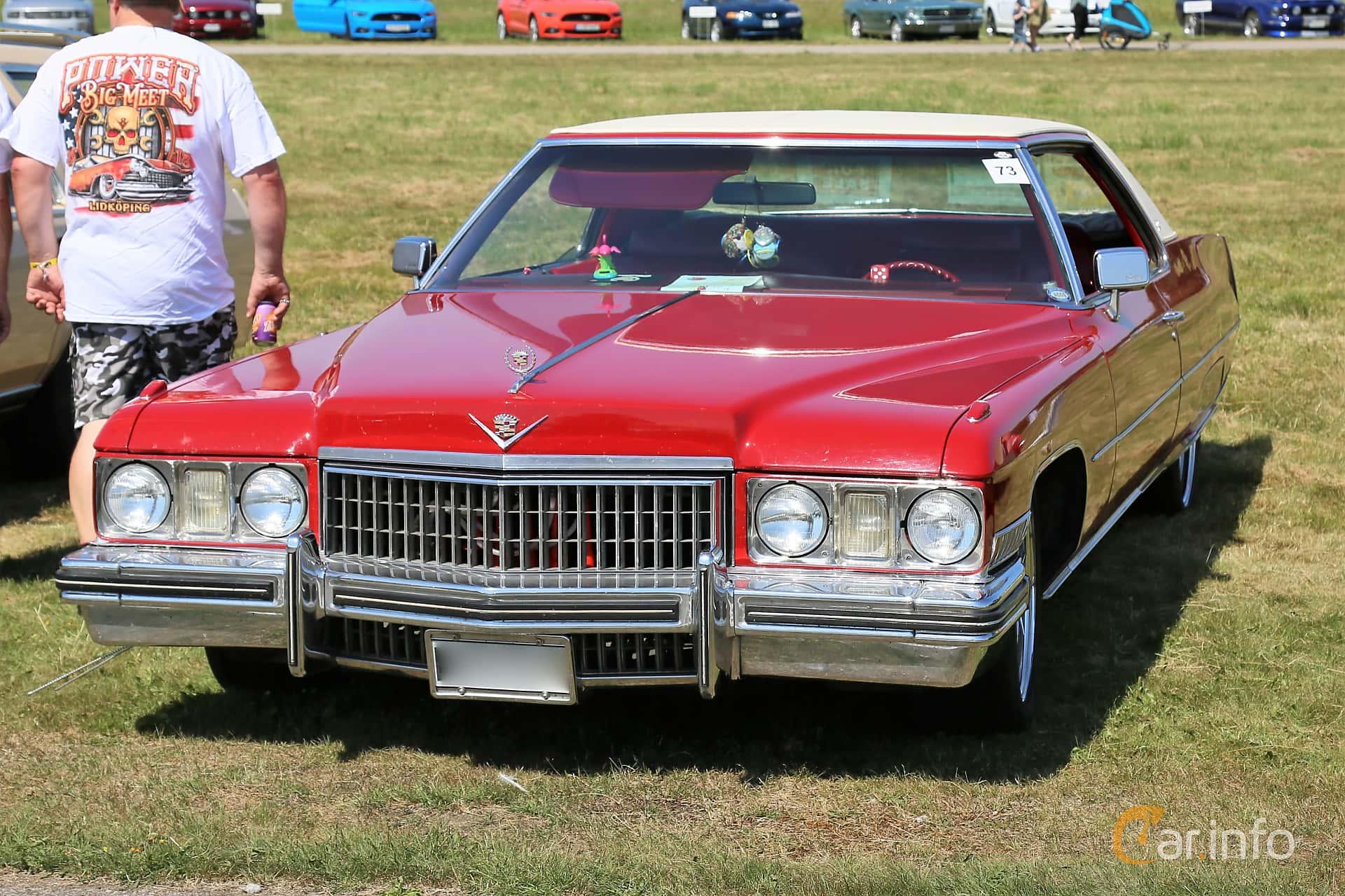 Cadillac Coupé de Ville 7.7 V8 OHV Hydra-Matic, 223hp, 1973