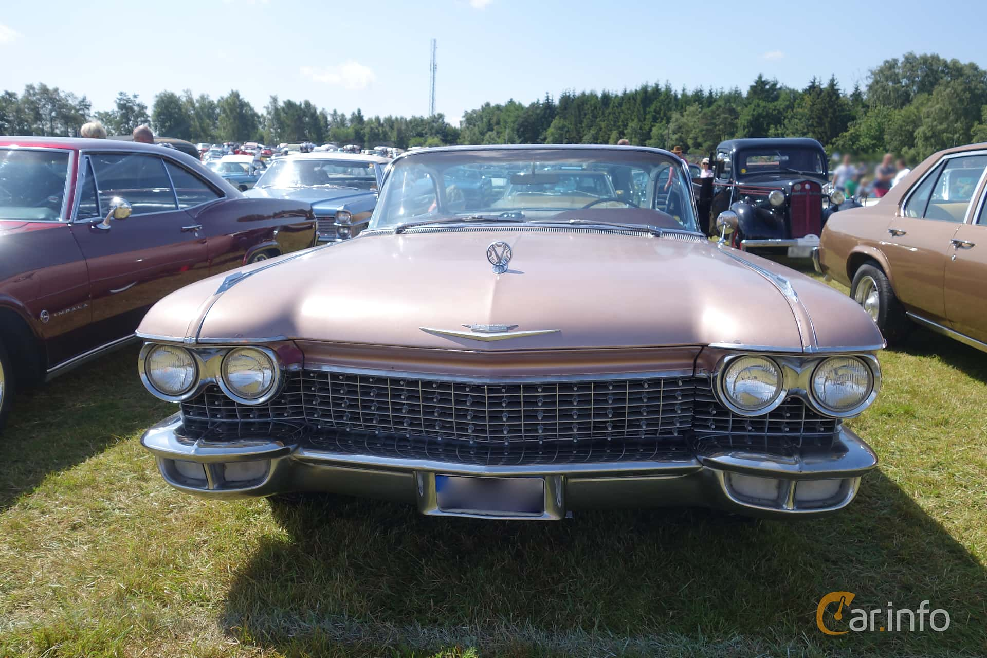 Cadillac Coupé de Ville 6.4 V8 OHV Hydra-Matic, 349hp, 1960 at Wheels & Wings 2015