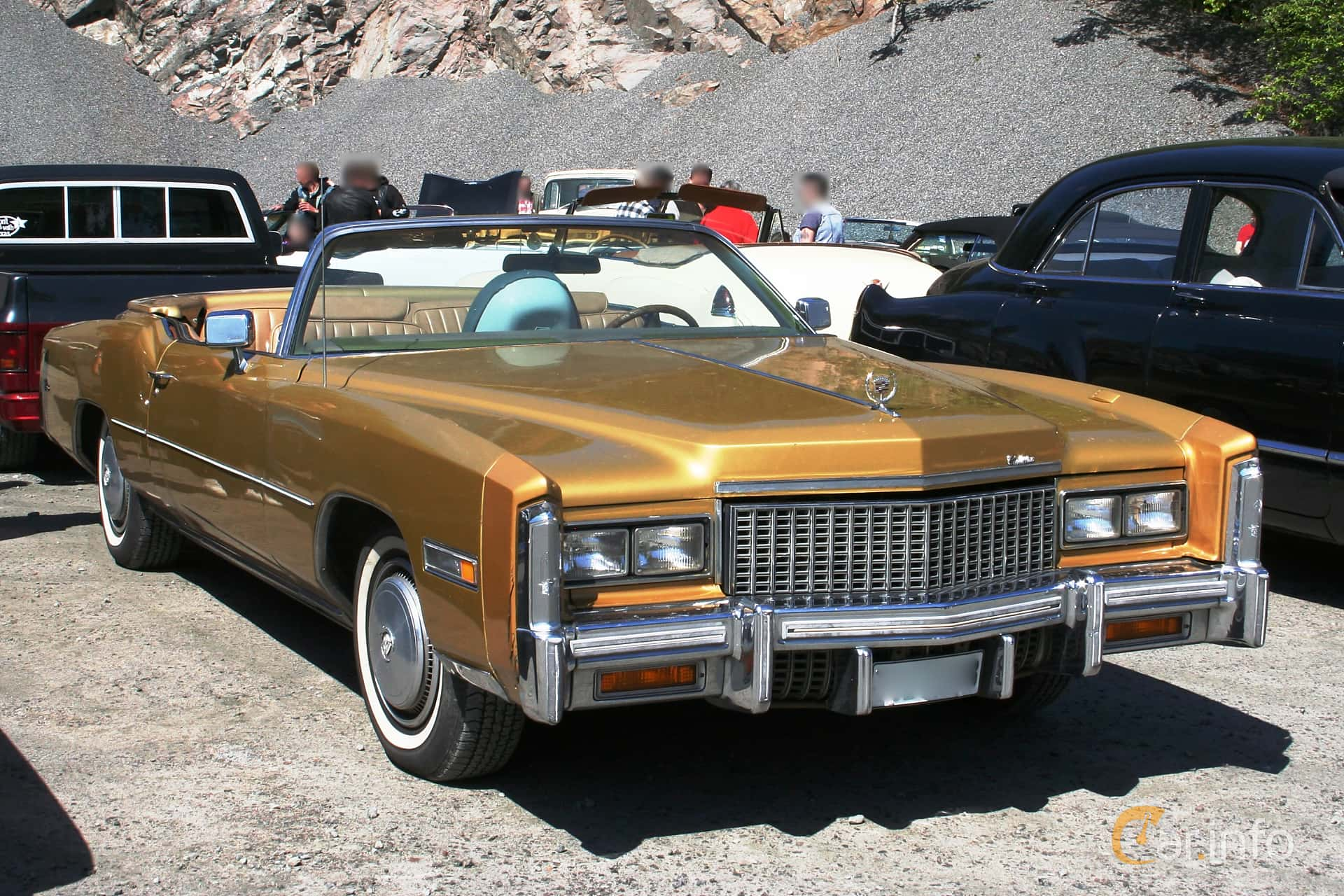 Front/Side of Cadillac Eldorado Convertible 8 2 V8 OHV Hydra-Matic