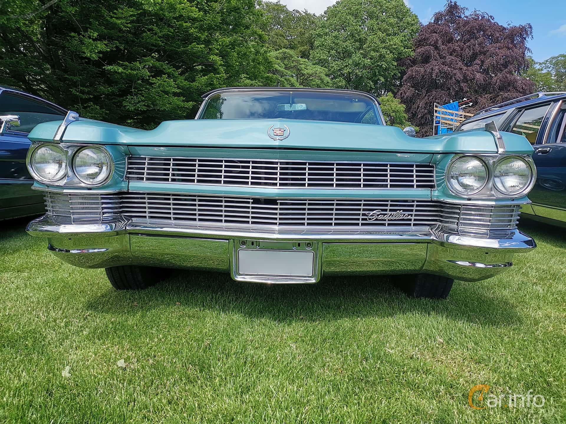 Cadillac Fleetwood Eldorado Convertible 7.0 V8 OHV Hydra-Matic, 345hp, 1964 at Sofiero Classic 2019