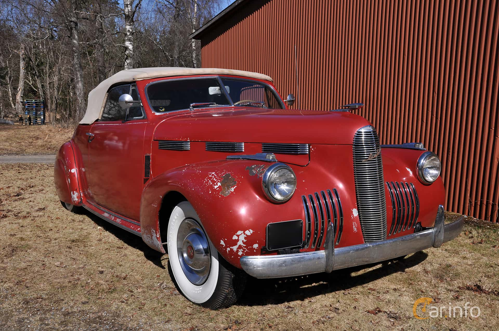 Cadillac LaSalle Convertible Coupe 5.3 Manual, 130hp, 1940