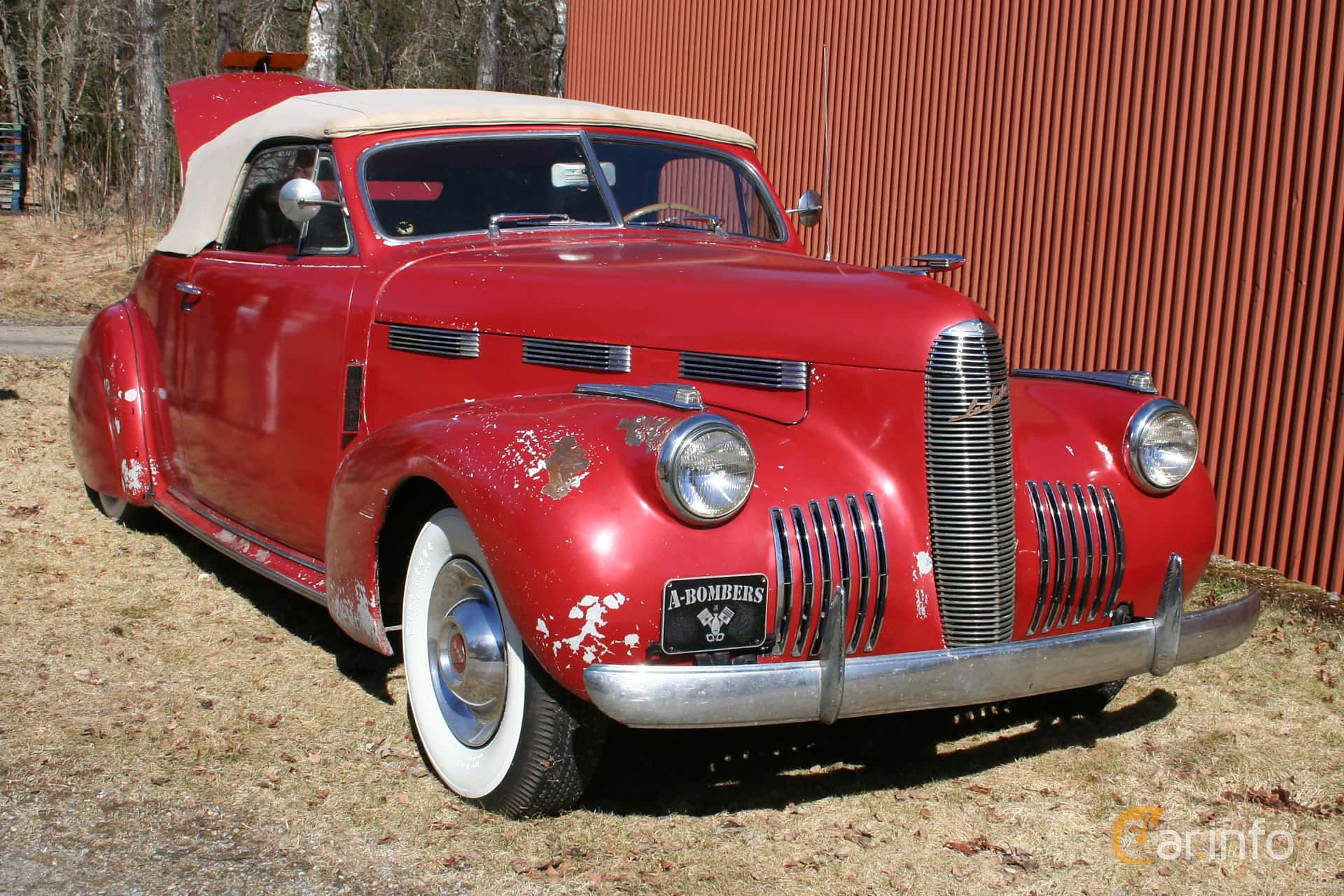 Cadillac LaSalle Convertible Coupe 5.3 Manual, 130hp, 1940