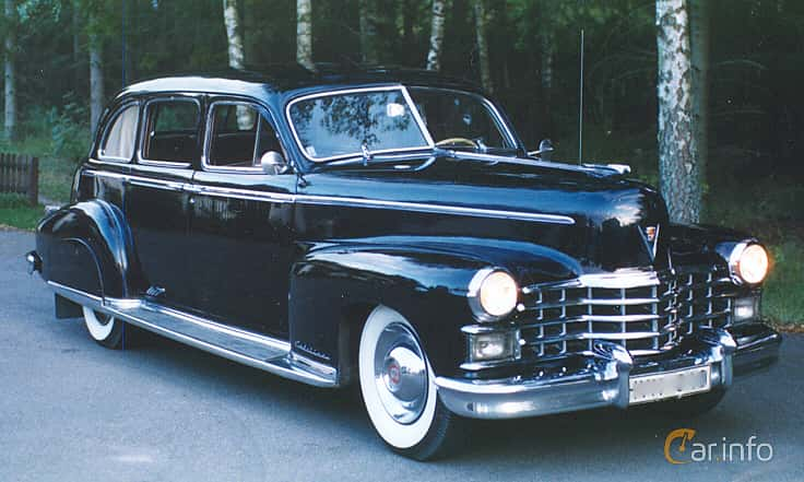 Cadillac Fleetwood Seventy-Five Sedan 5.7 V8 Hydra-Matic, 152hk, 1948