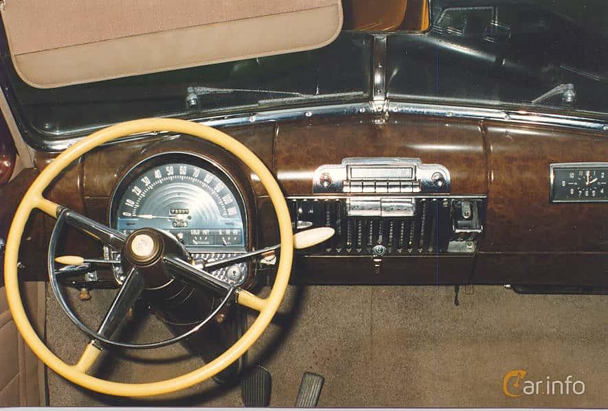 Cadillac Fleetwood Seventy-Five Sedan 5.7 V8 Hydra-Matic, 152hp, 1948
