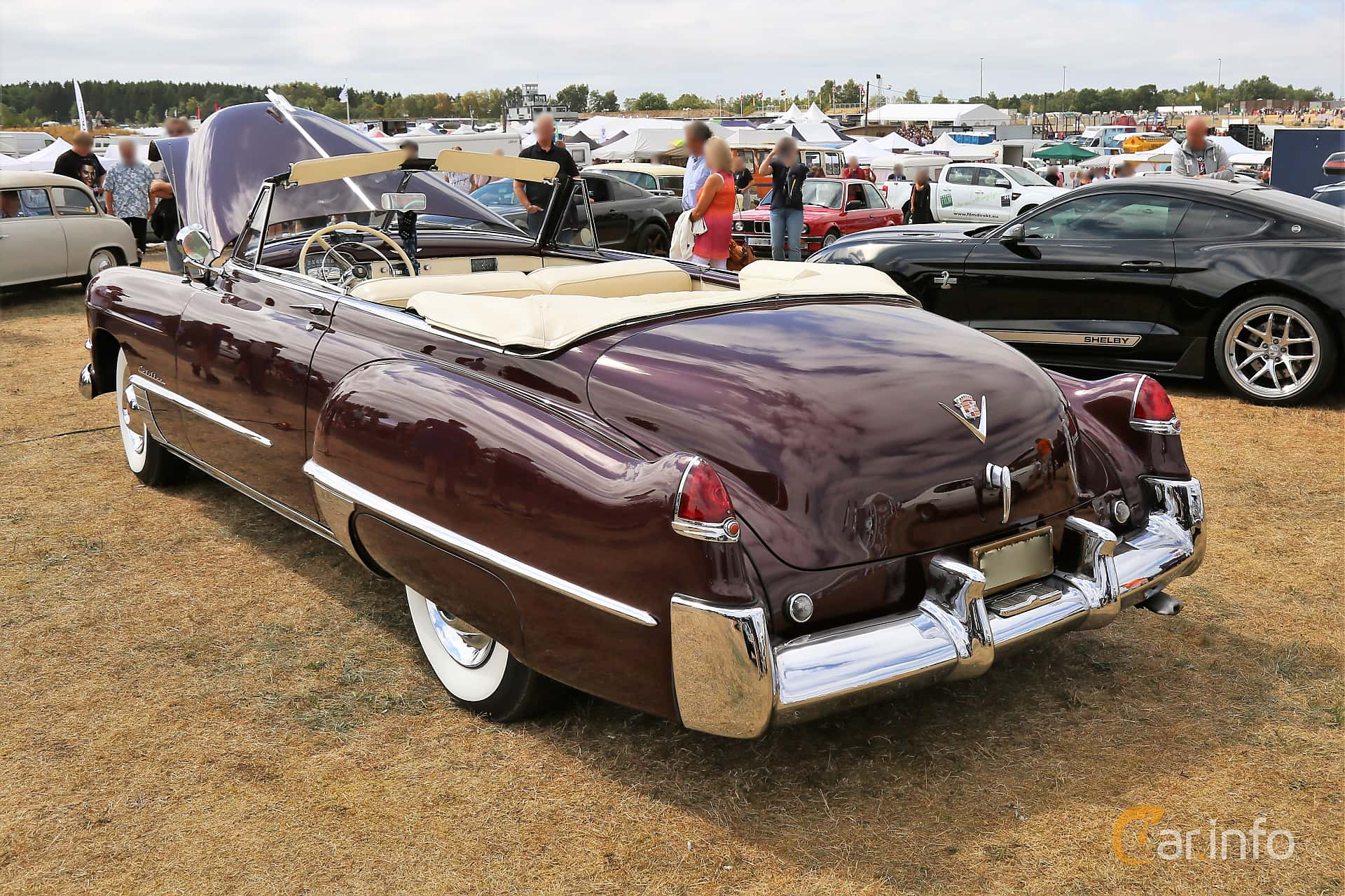 6 Images Of Cadillac Sixty Two Convertible Coup 54 V8 Hydra Matic 1949 Engine Back Side