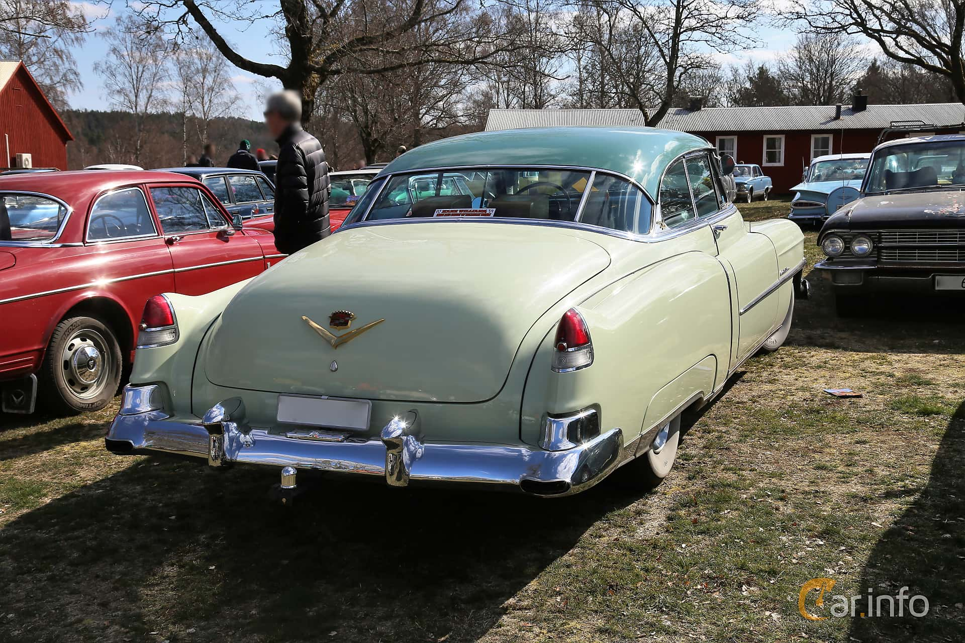 Cadillac Sixty-Two Coupé de Ville 5.4 V8 Hydra-Matic, 193hp, 1952 at Uddevalla Veteranbilsmarknad Backamo, Ljungsk 2019