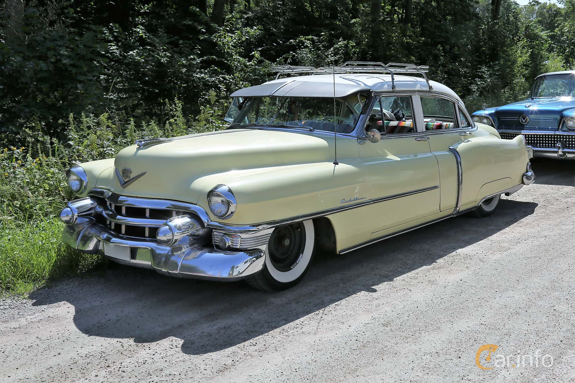 Cadillac Sixty-Two Sedan 5.4 V8 Hydra-Matic, 213hp, 1953 at A-bombers - Old Style Weekend Backamo 2019