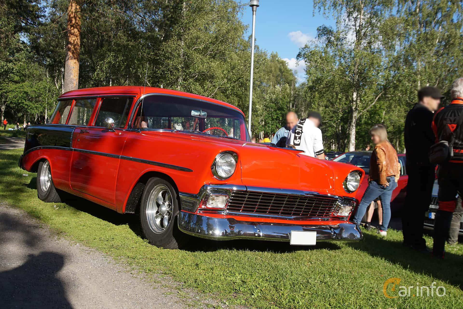 Chevrolet 210 Handyman 3.9 Powerglide, 142hp, 1956 at Onsdagsträffar på Gammlia Umeå 2019 vecka 27