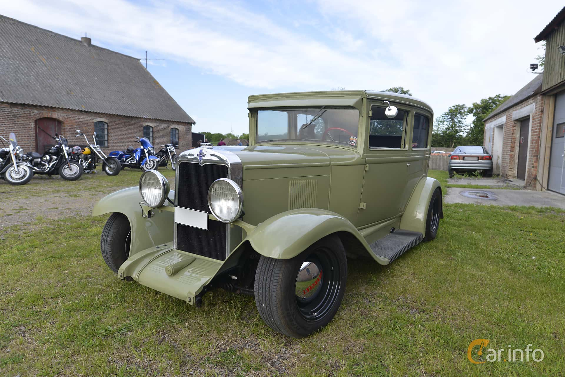 Chevrolet International Coach 3.2 Manual, 47hp, 1929 at The Saints, Höganäs (Maj 2016)
