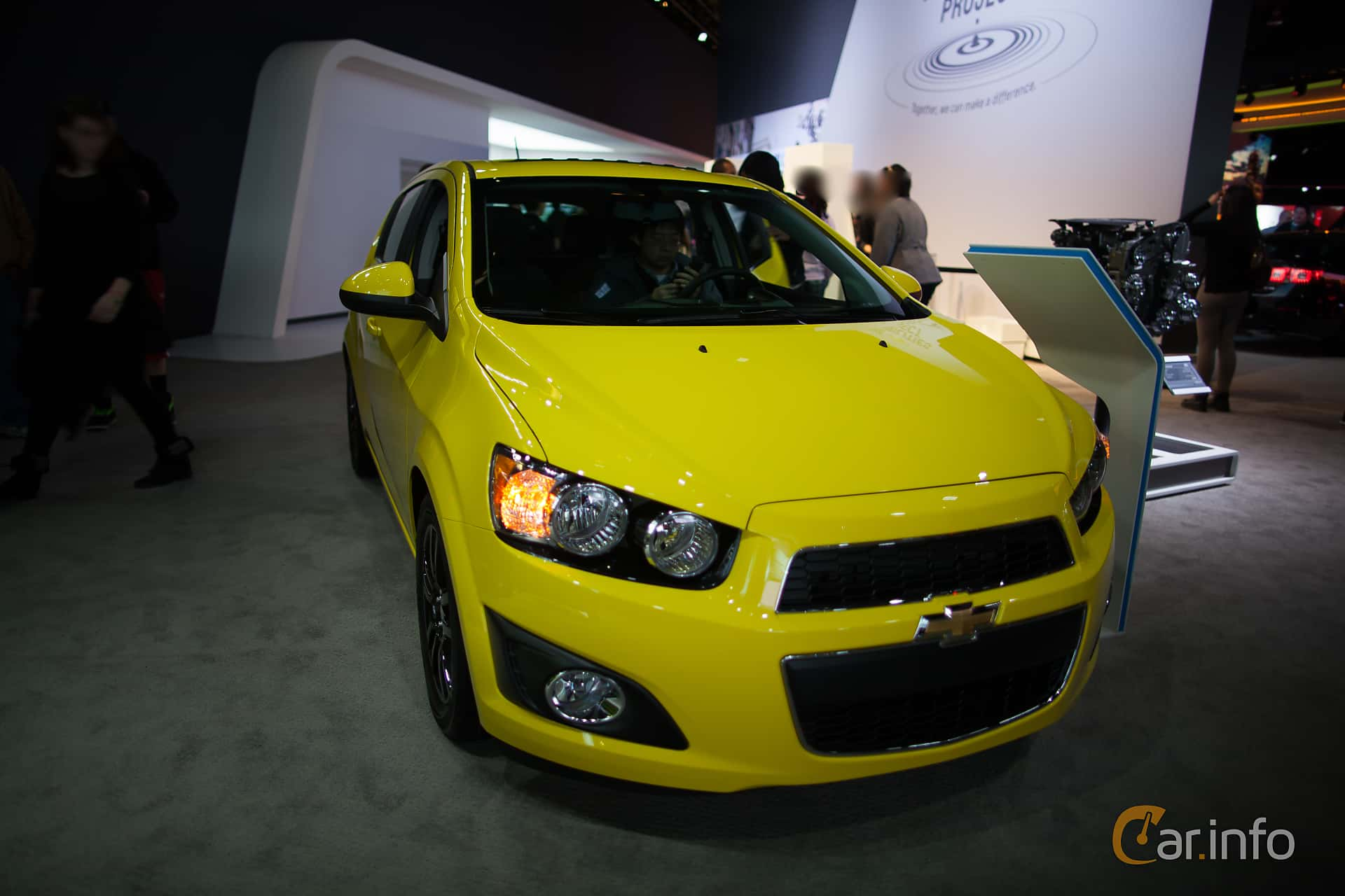 Front of Chevrolet Aveo 1.8 Manual, 137ps, 2015 at North American  International Auto Show