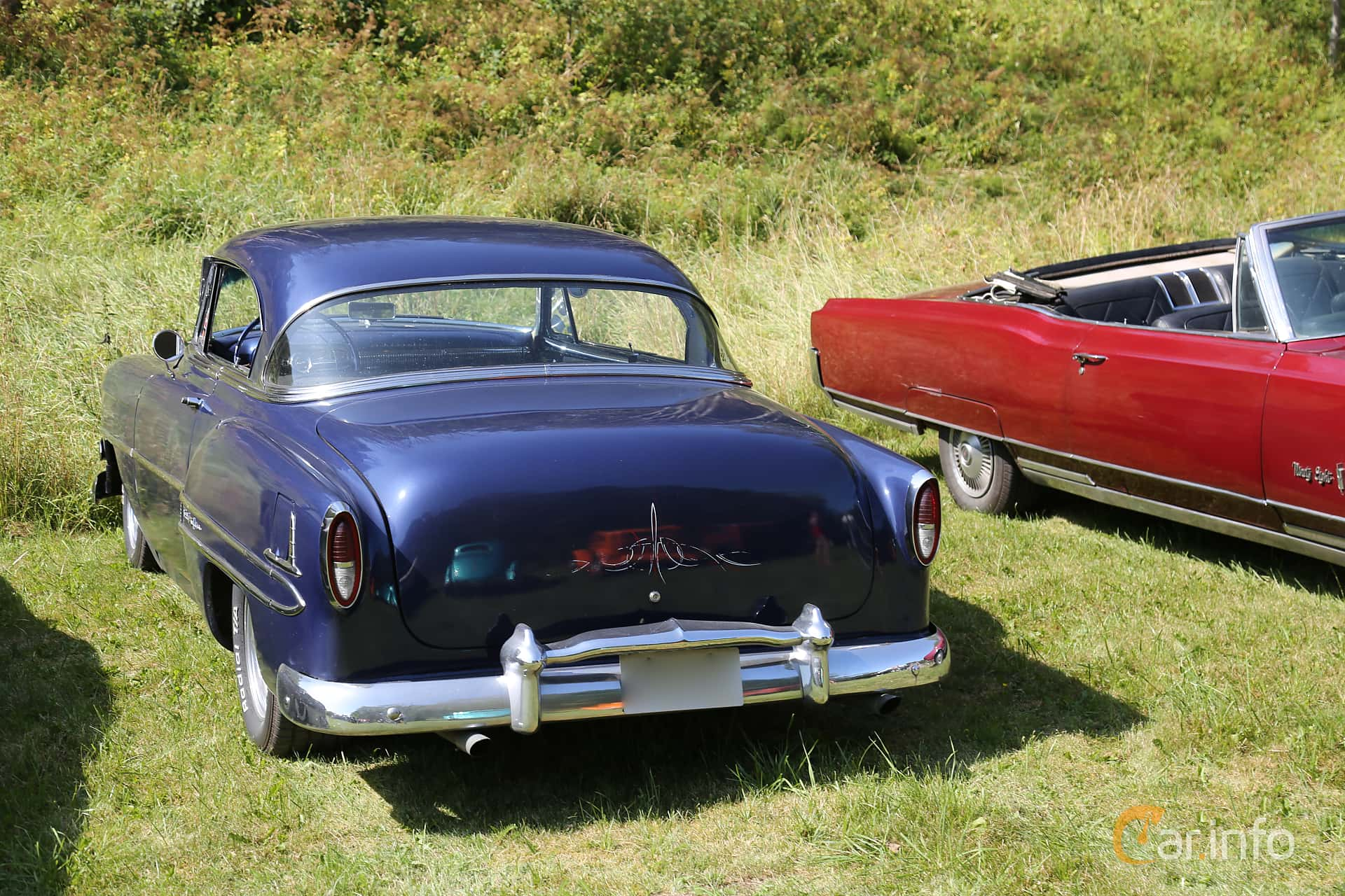 Back/Side of Chevrolet Bel Air Sport Coupé 1954 at A-bombers - Old Style Weekend Backamo 2019
