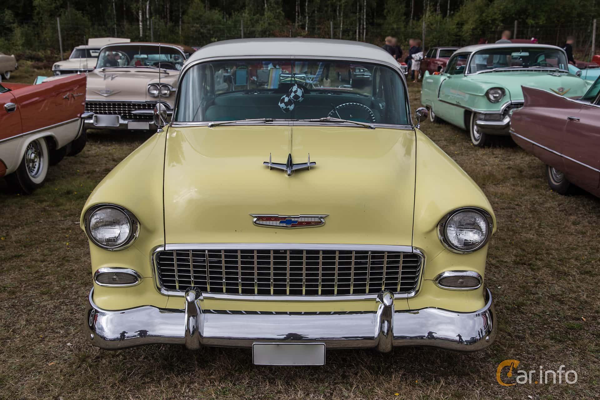Chevrolet Bel Air 2-door Sedan 4.3 V8 Powerglide, 183hp, 1955 at Power End of Summer Meet Emmaboda 2017