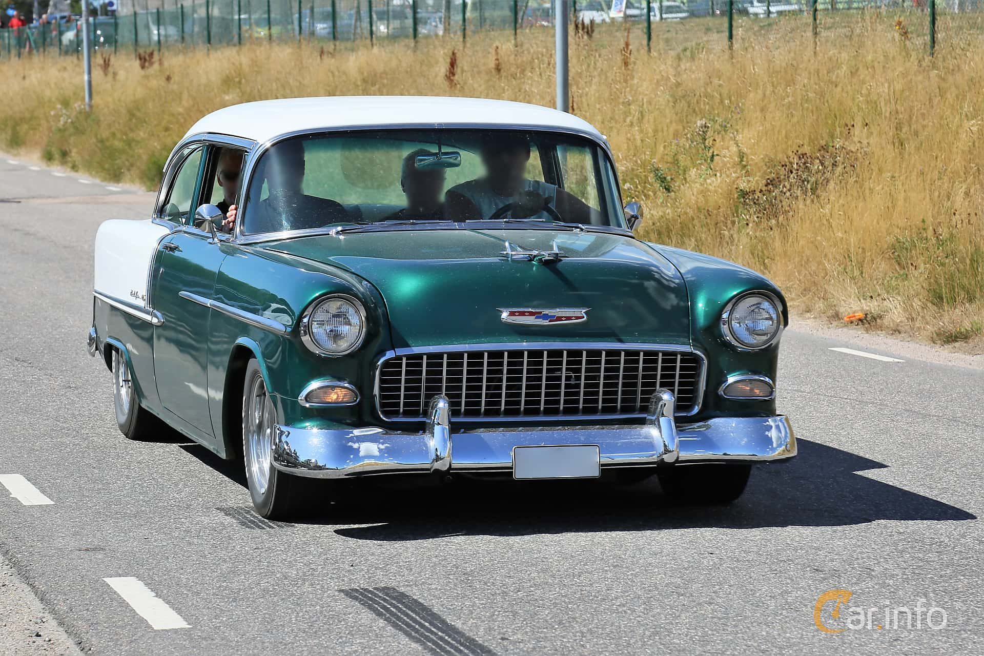 Chevrolet Bel Air 2-door Sedan 4.3 V8 Powerglide, 183hp, 1955