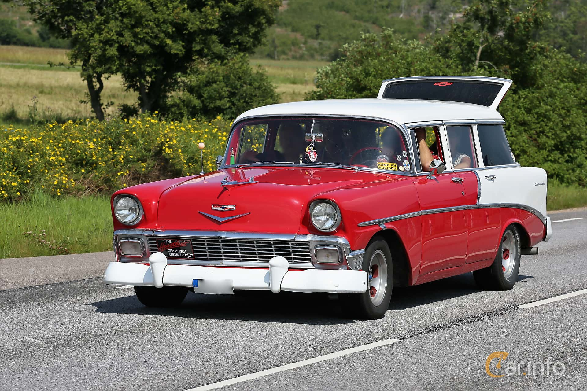 Chevrolet Bel Air Beauville 3.9 Manual, 142hp, 1956