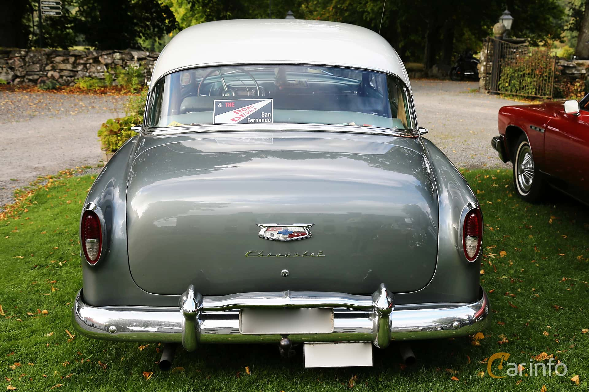 Chevrolet Bel Air 4-door Sedan 3.9 Manual, 117hp, 1954