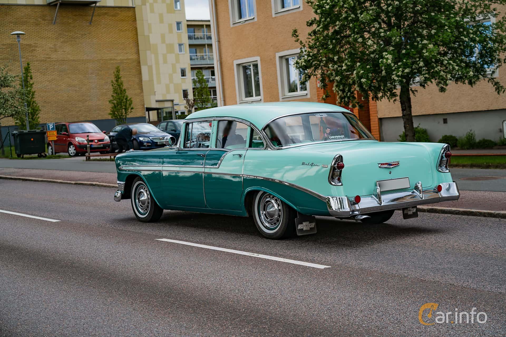 Chevrolet Bel Air 4-door Sedan 3.9 Powerglide, 142hp, 1956 at Riksettanrallyt 2019 Skillingaryd