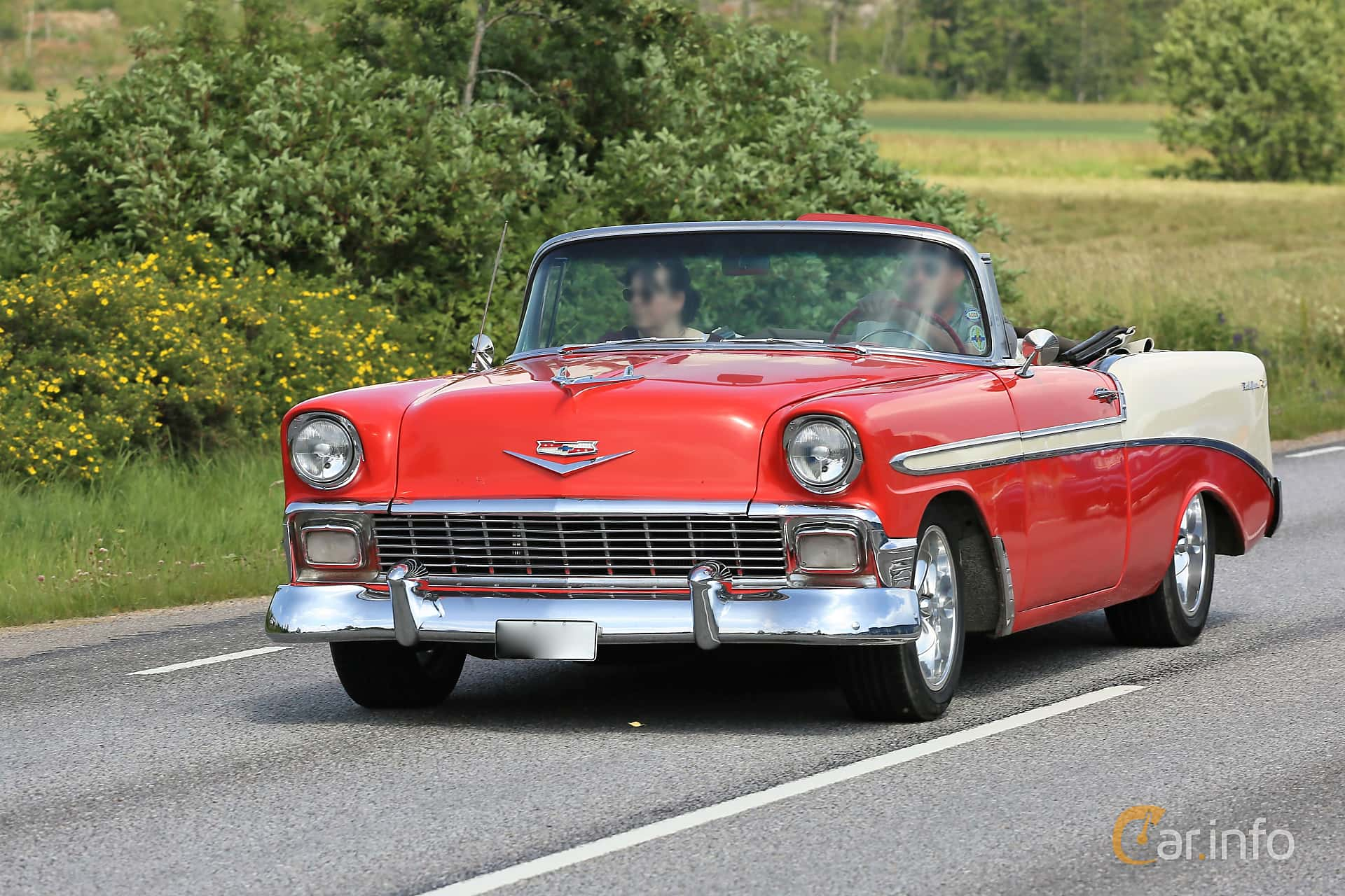 Chevrolet Bel Air Convertible 4.3 V8 Powerglide, 173hp, 1956