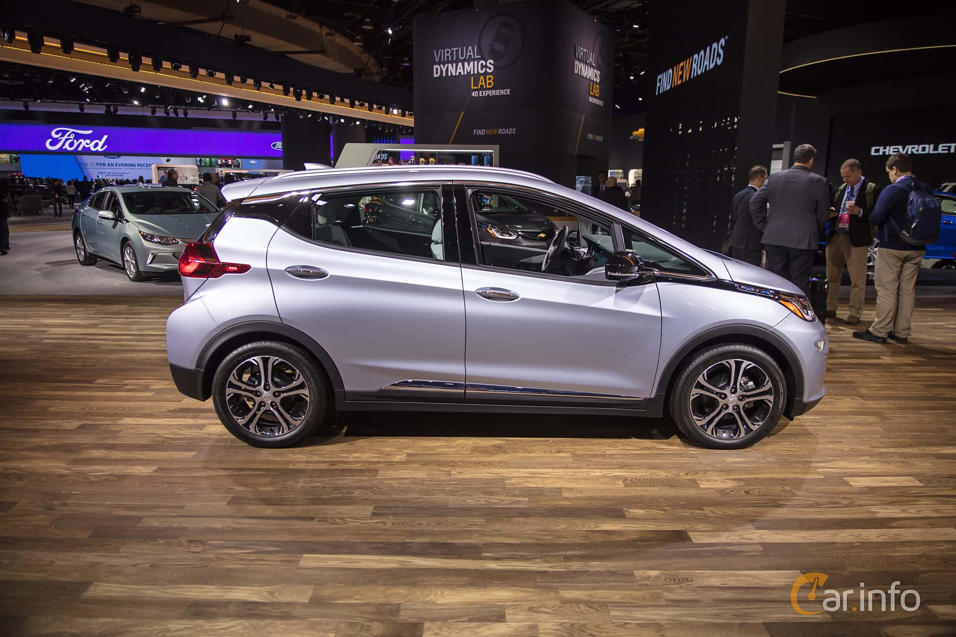 Side  of Chevrolet Bolt 60 kWh Single Speed, 204ps, 2017 at North American International Auto Show 2018