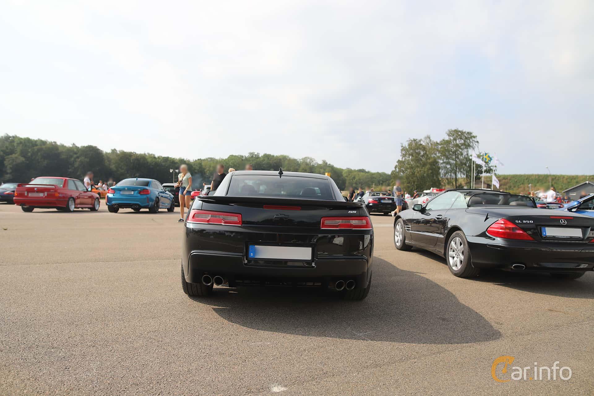 Chevrolet Camaro SS 6.2 V8 Manual, 432hp, 2014 at Autoropa Racing day Knutstorp 2019