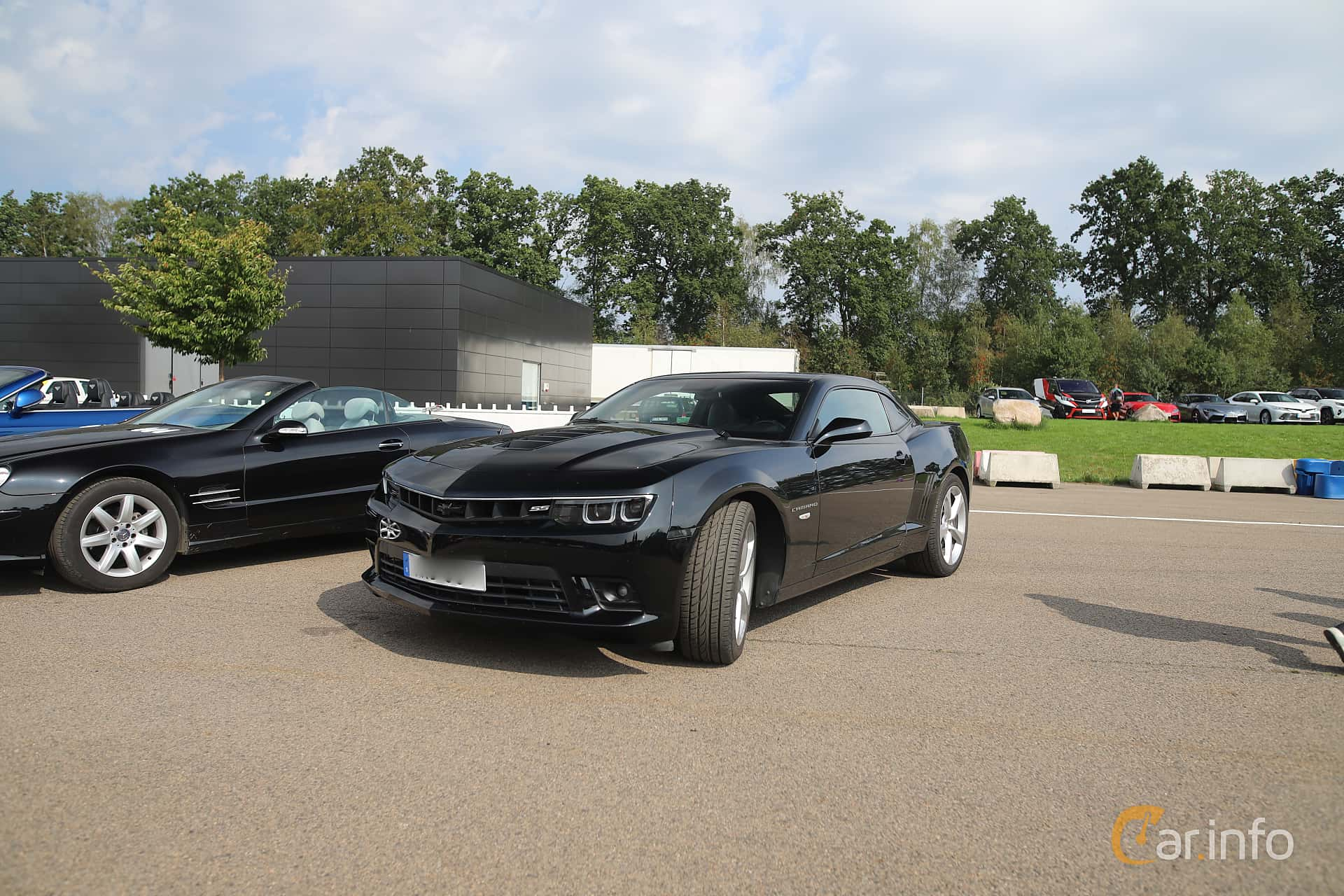 Front/Side  of Chevrolet Camaro SS 6.2 V8 Manual, 432ps, 2014 at Autoropa Racing day Knutstorp 2019