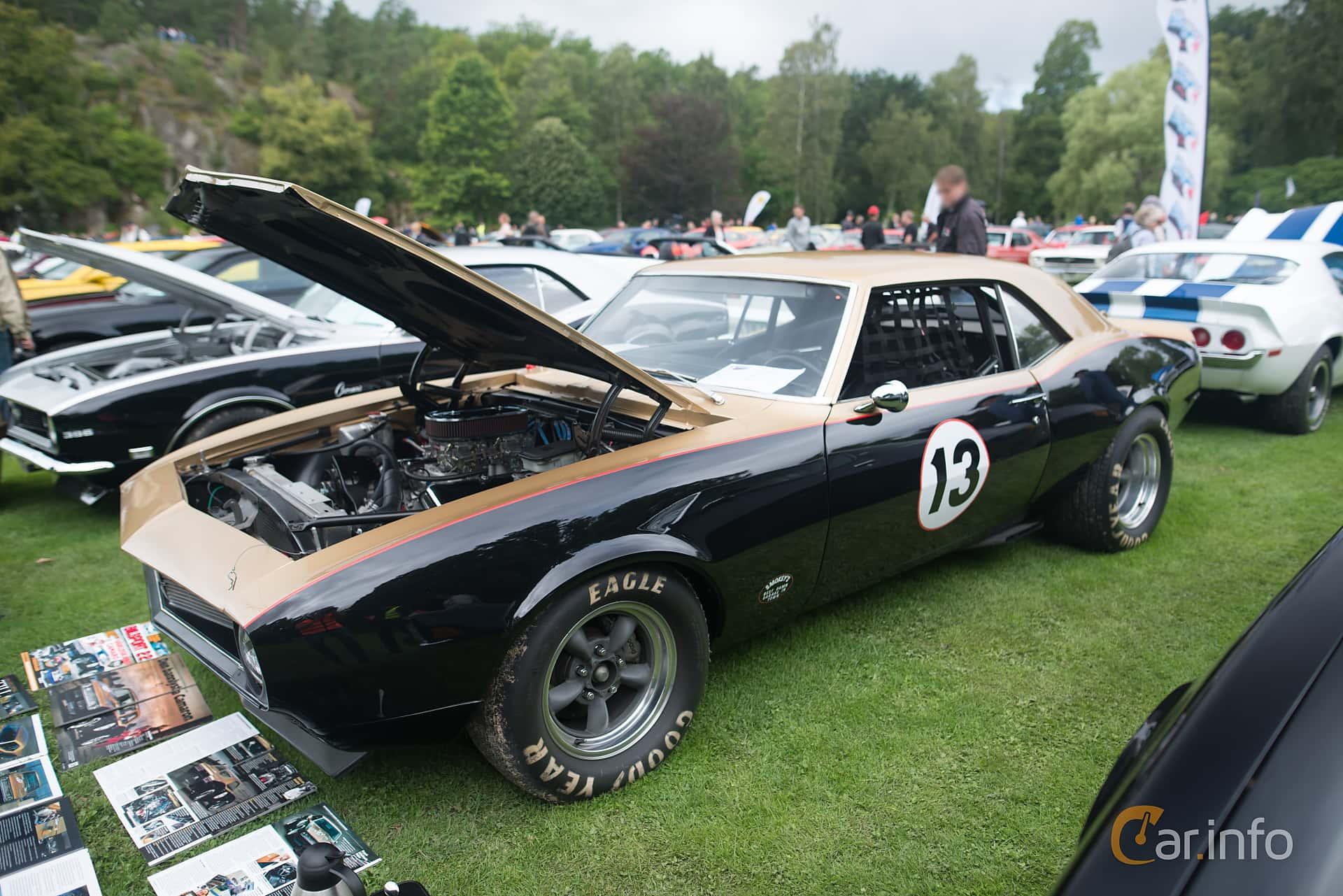 Chevrolet Camaro SS 396 6.5 V8 Manual, 381hp, 1967 at Pony & Muscle Car Meet Ronneby 2017