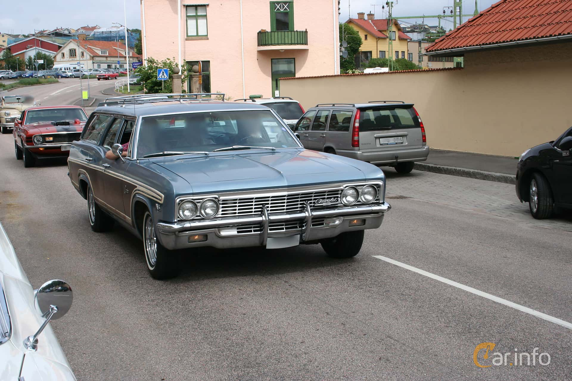 1 Images Of Chevrolet Caprice 2 Seat Station Wagon 65 V8 Powerglide 1966 Chevy Front Side 329ps