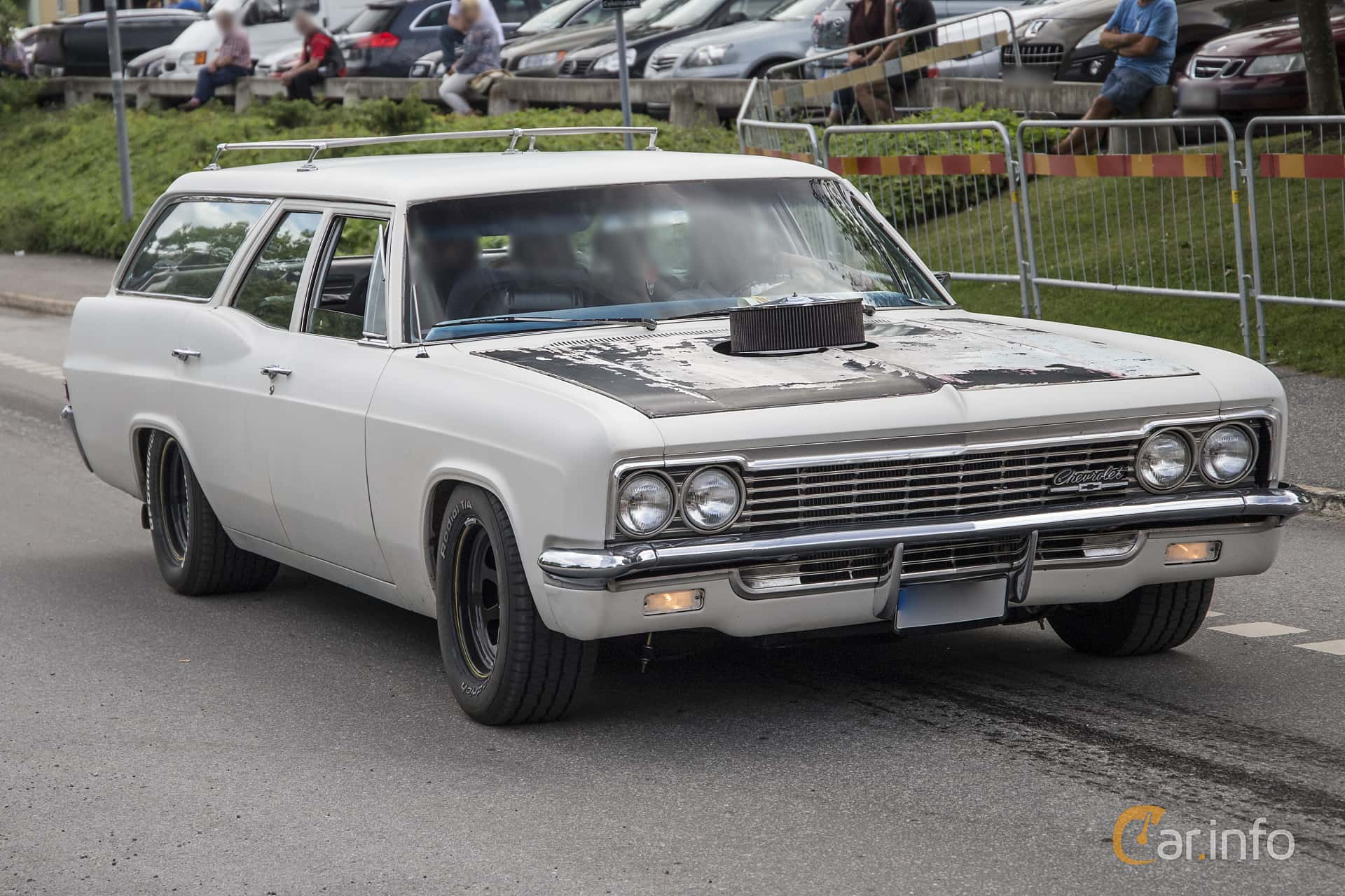 Chevrolet Caprice 3 Seat Station Wagon 1966 Chevy For Sale