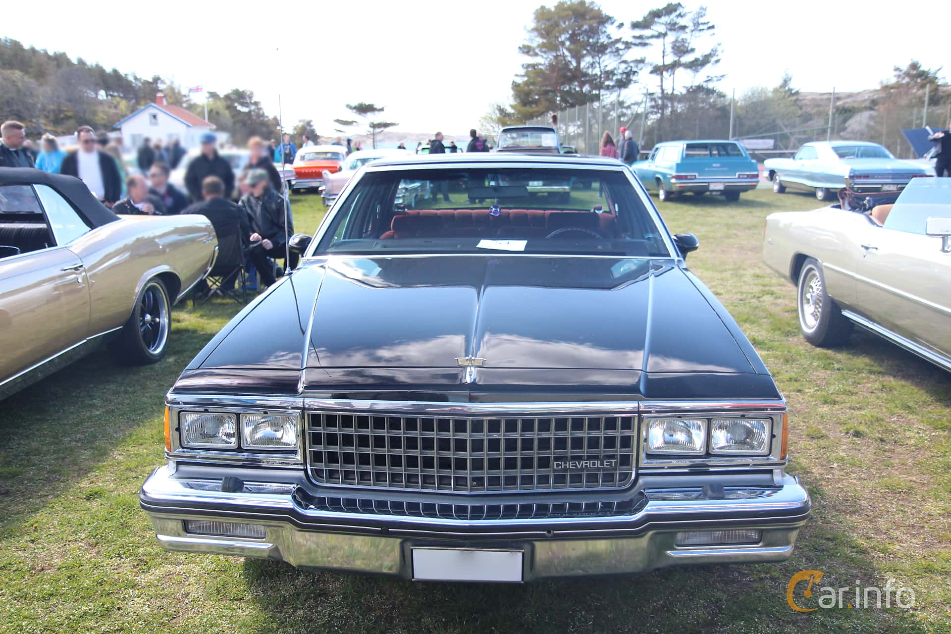 2 images of Chevrolet Caprice Sedan 5 0 V8 Automatic, 157hp, 1980 by